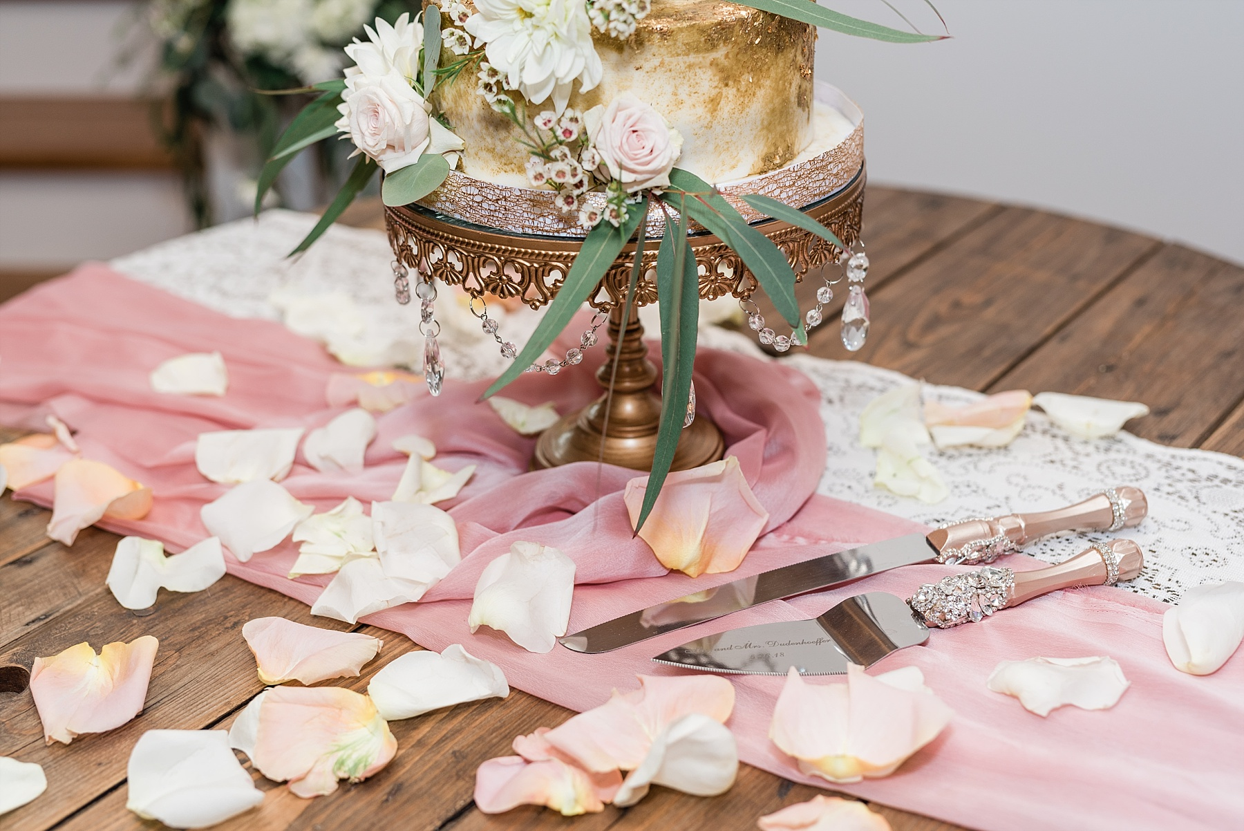 Stunning Heartfelt, Elegant, Fine Art, Chic, Outdoor Spring Wedding with Blush, Cream, Greenery, Rose Gold, and Sequins at Emerson Fields Venue by Kelsi Kliethermes Photography_0062.jpg