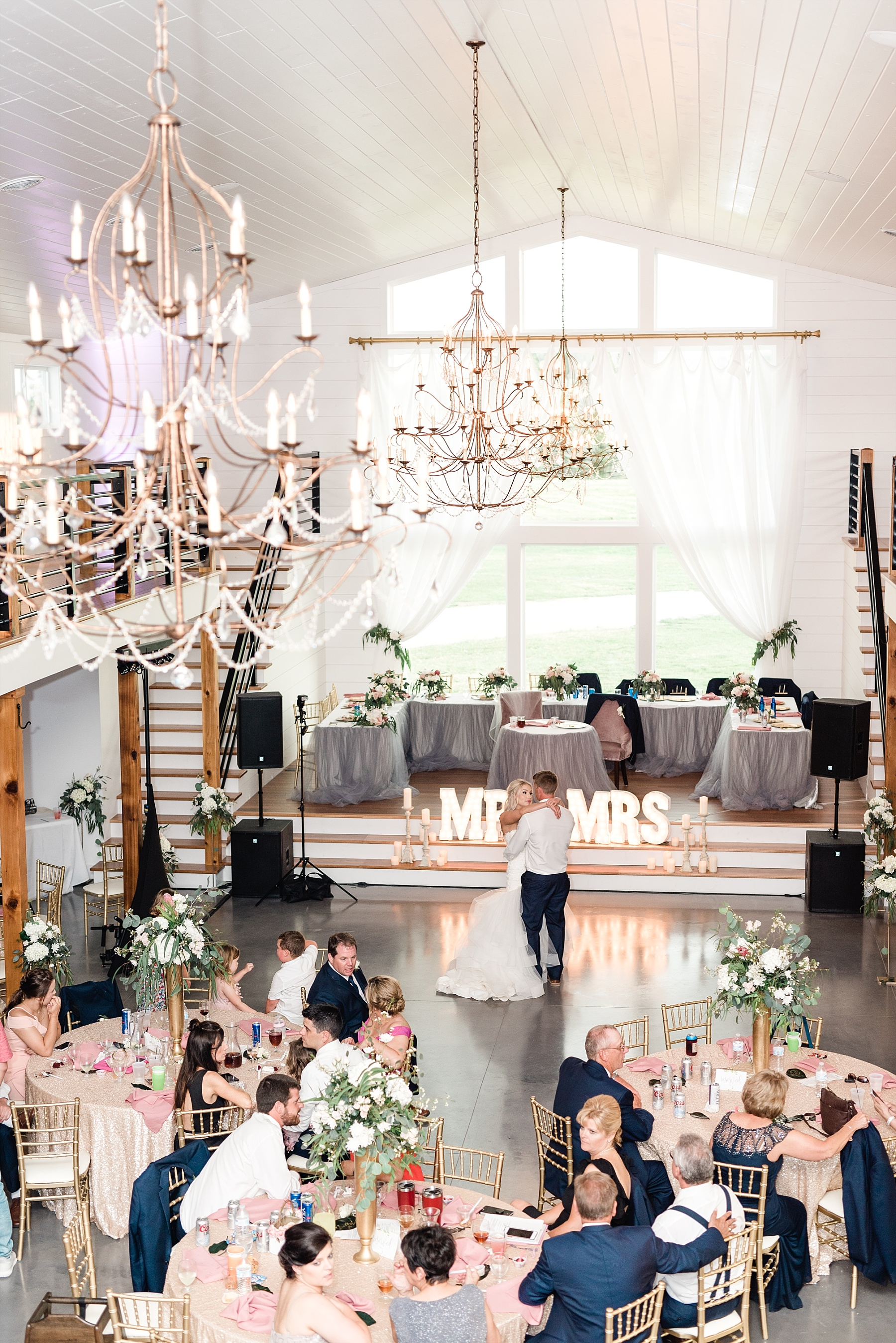 Stunning Heartfelt, Elegant, Fine Art, Chic, Outdoor Spring Wedding with Blush, Cream, Greenery, Rose Gold, and Sequins at Emerson Fields Venue by Kelsi Kliethermes Photography_0063.jpg