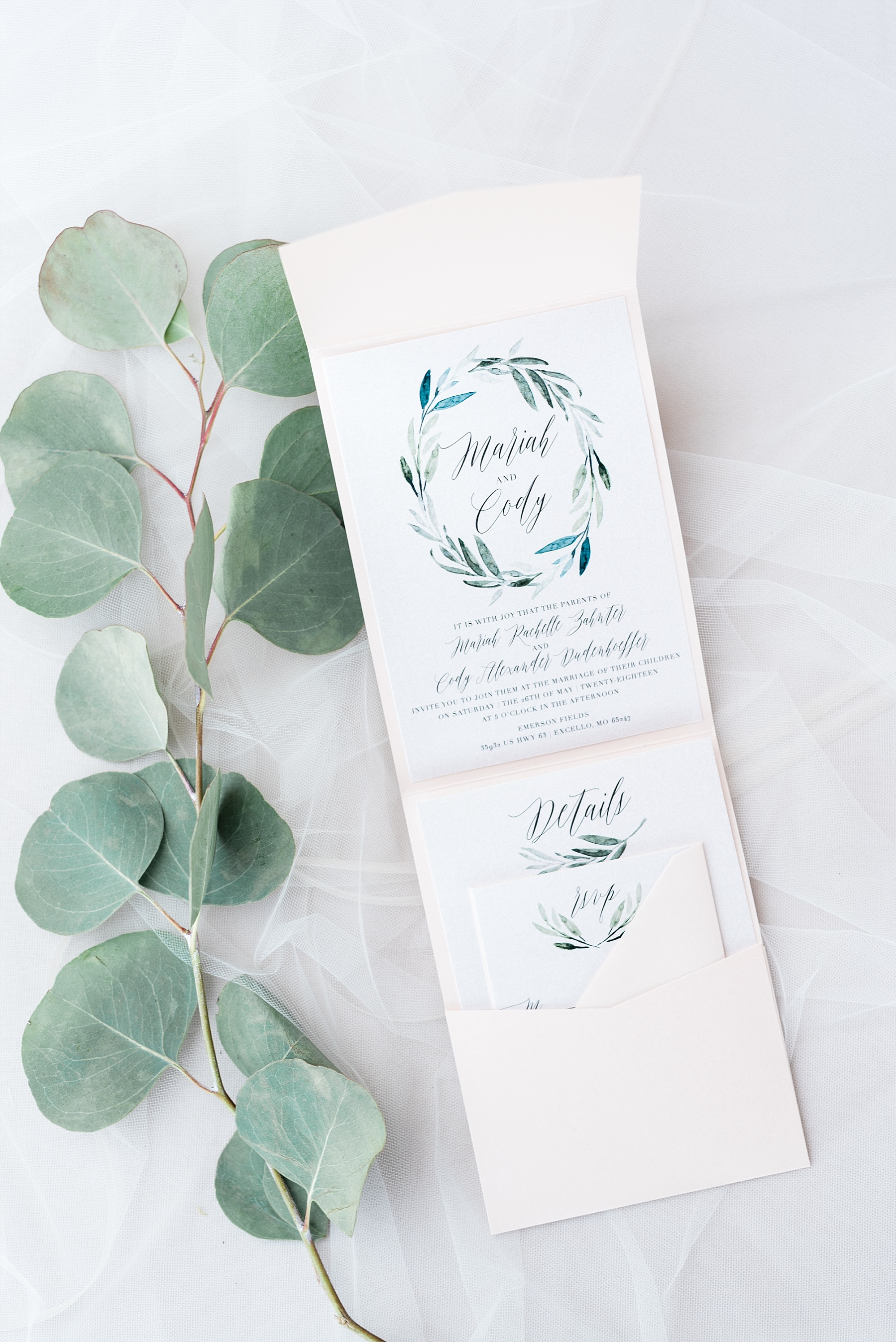Stunning Heartfelt, Elegant, Fine Art, Chic, Outdoor Spring Wedding with Blush, Cream, Greenery, Rose Gold, and Sequins at Emerson Fields Venue by Kelsi Kliethermes Photography_0069.jpg