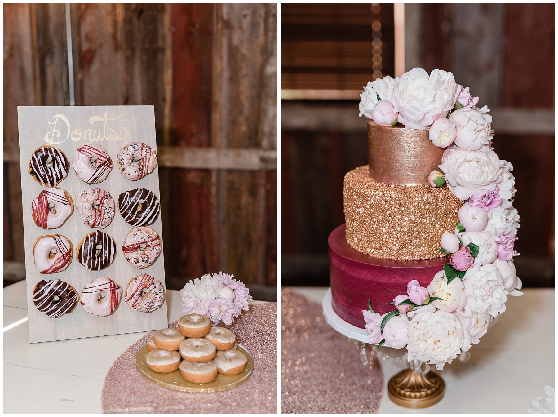 Light and Airy Spring Shabby Chic Wedding at Bessie's Barn Iowa by Kelsi Kliethermes Photography_0033.jpg