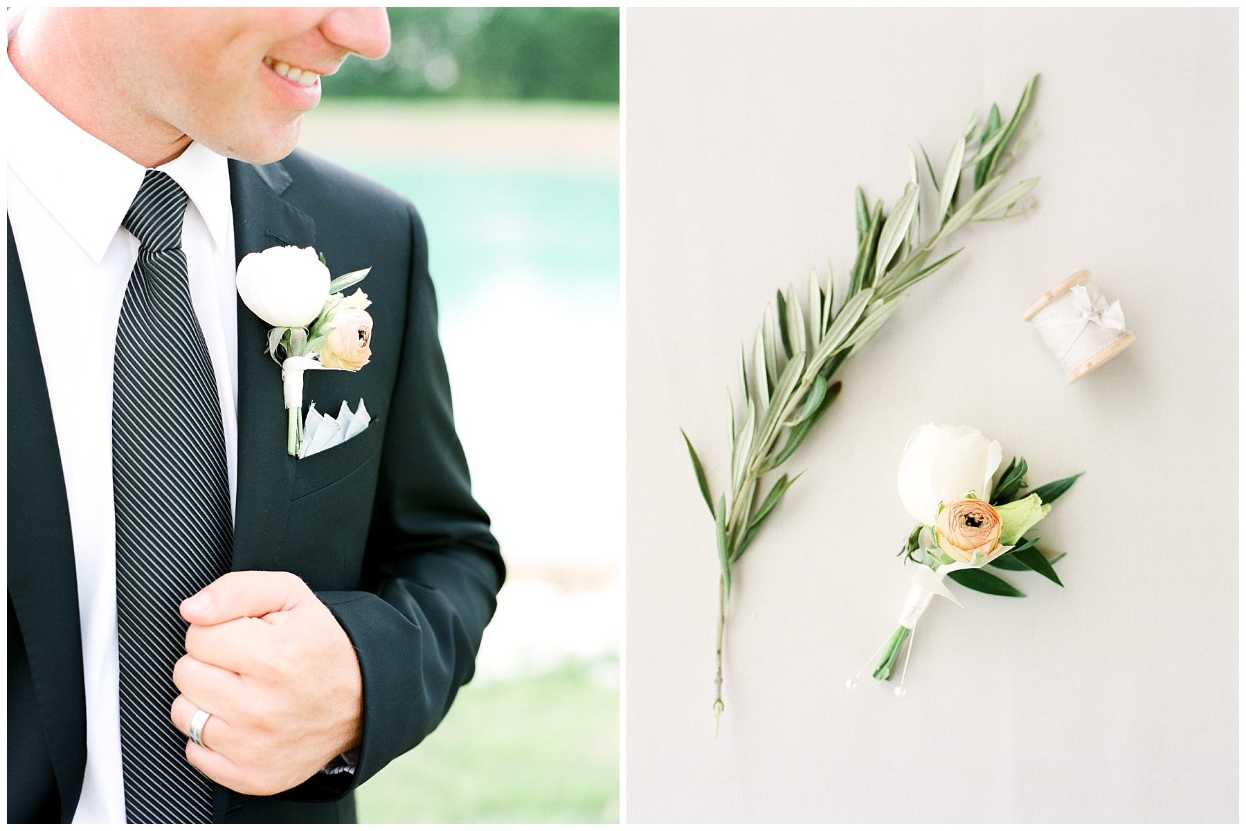 Textural Organic Wedding in All White Venue by Kelsi Kliethermes Wedding Photographer - Missouri, Midwest, and Destinations_0039.jpg