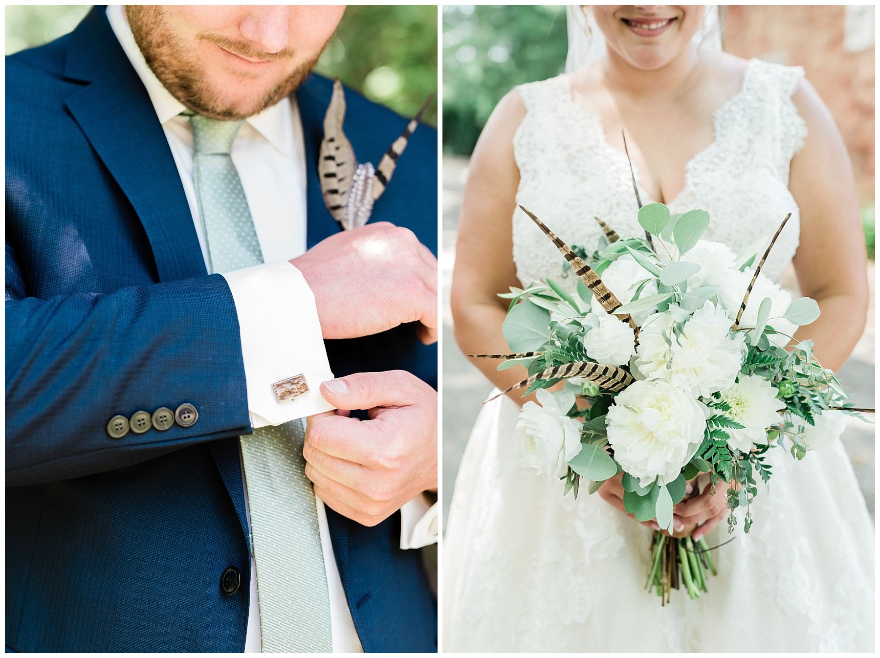 Montana Couple Married Lakeside with Mountain Themed Wedding At Little Piney Lodge Hermann MO by Kelsi Kliethermes Photography_0008.jpg