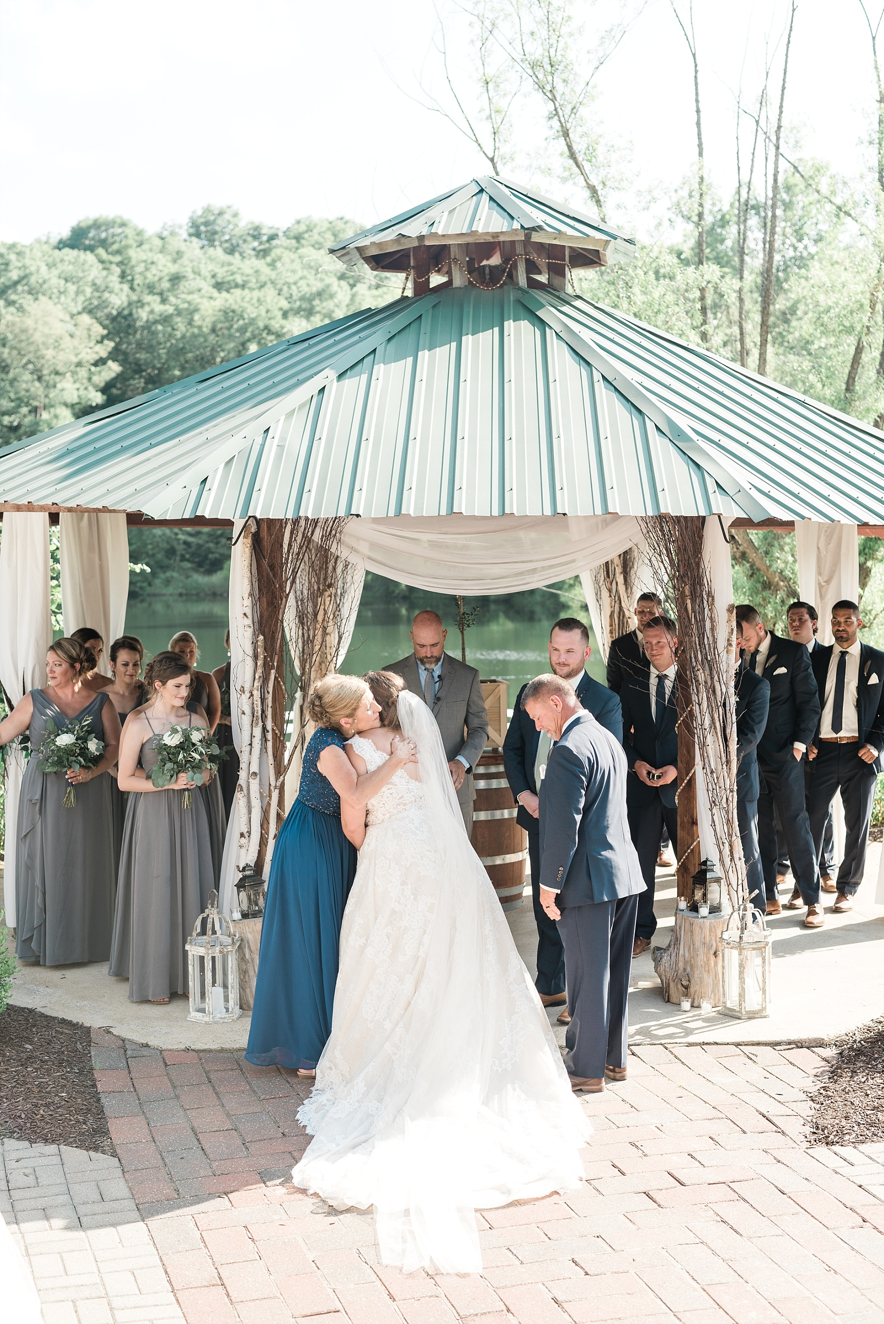 Montana Couple Married Lakeside with Mountain Themed Wedding At Little Piney Lodge Hermann MO by Kelsi Kliethermes Photography_0032.jpg