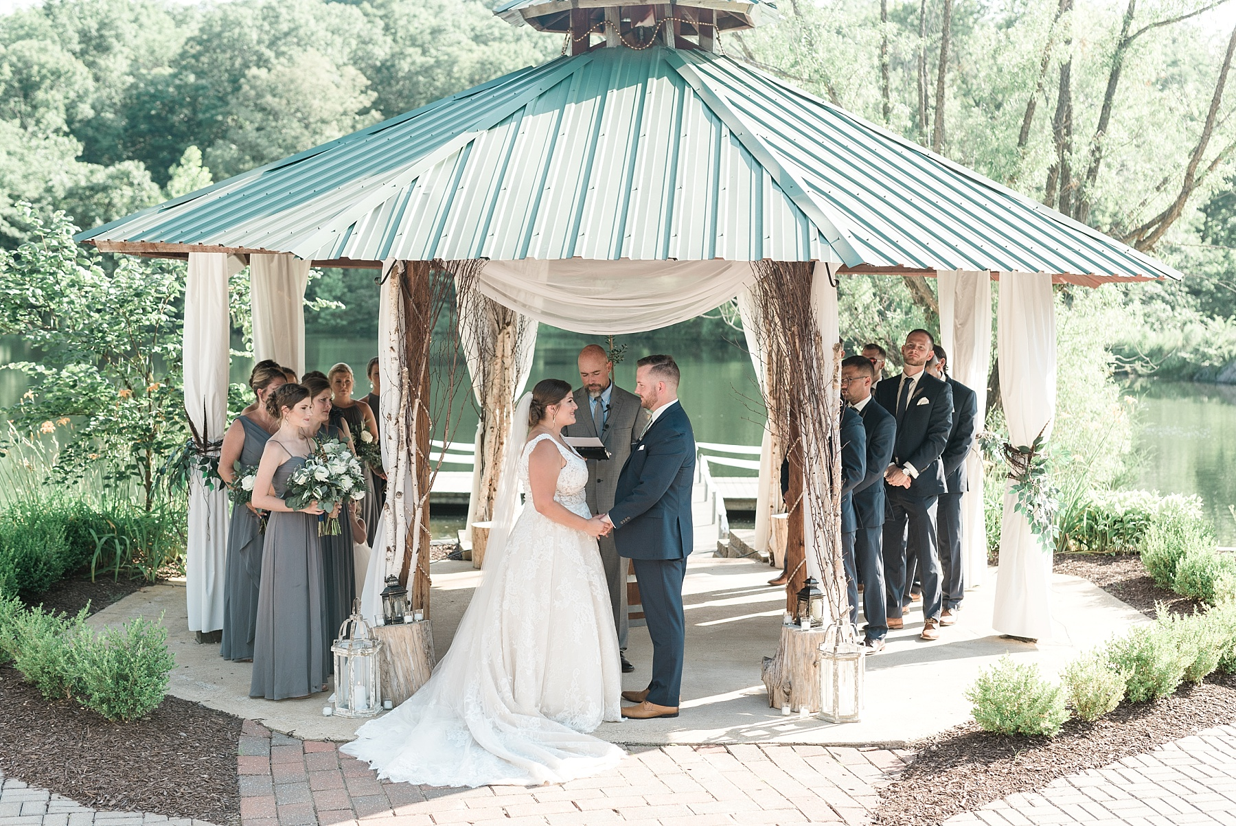 Montana Couple Married Lakeside with Mountain Themed Wedding At Little Piney Lodge Hermann MO by Kelsi Kliethermes Photography_0035.jpg