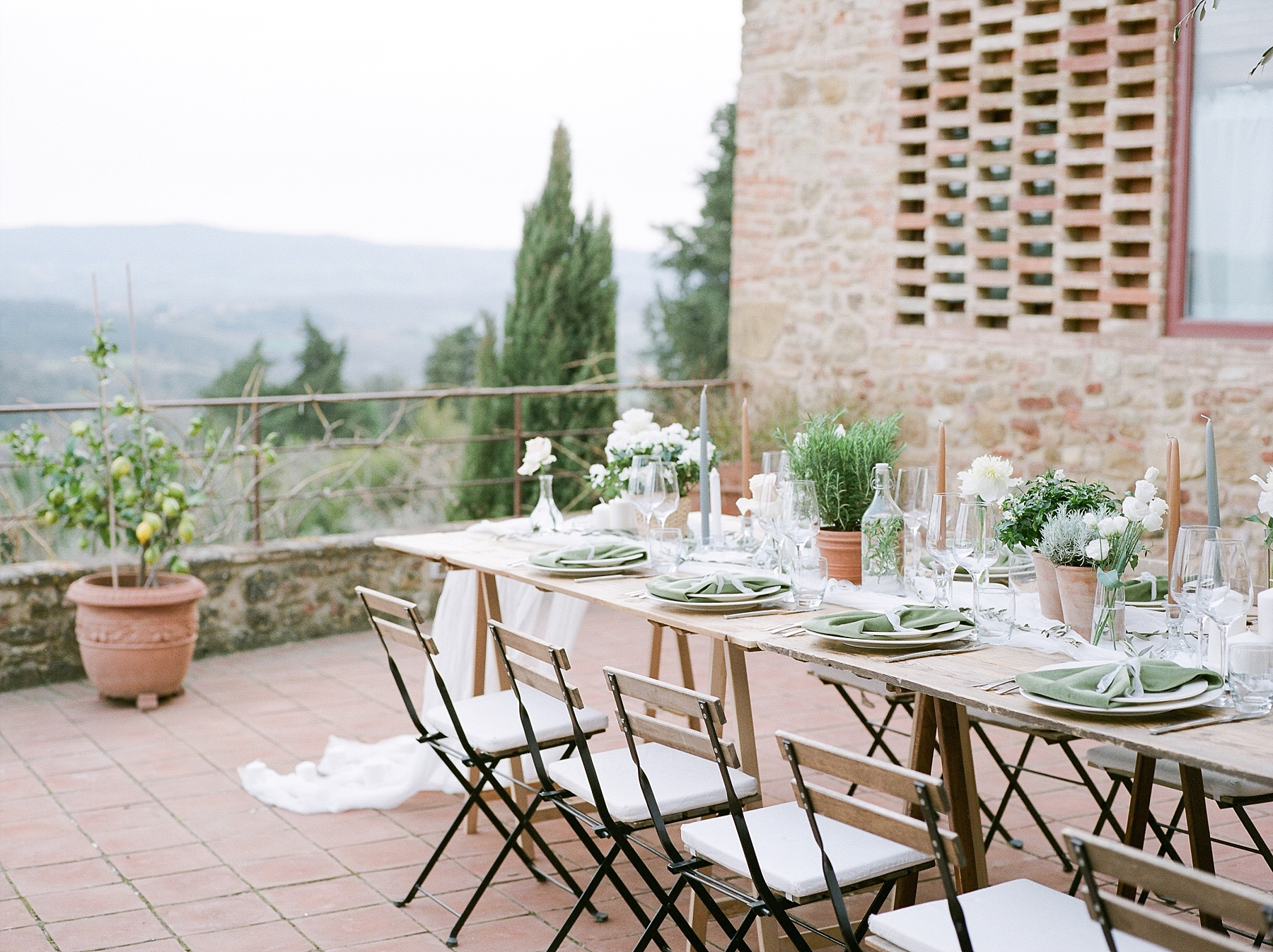 All White Destination Wedding in the Hills of Tuscany Italy at Estate Borgo Petrognano by Kelsi Kliethermes Photography_0021.jpg