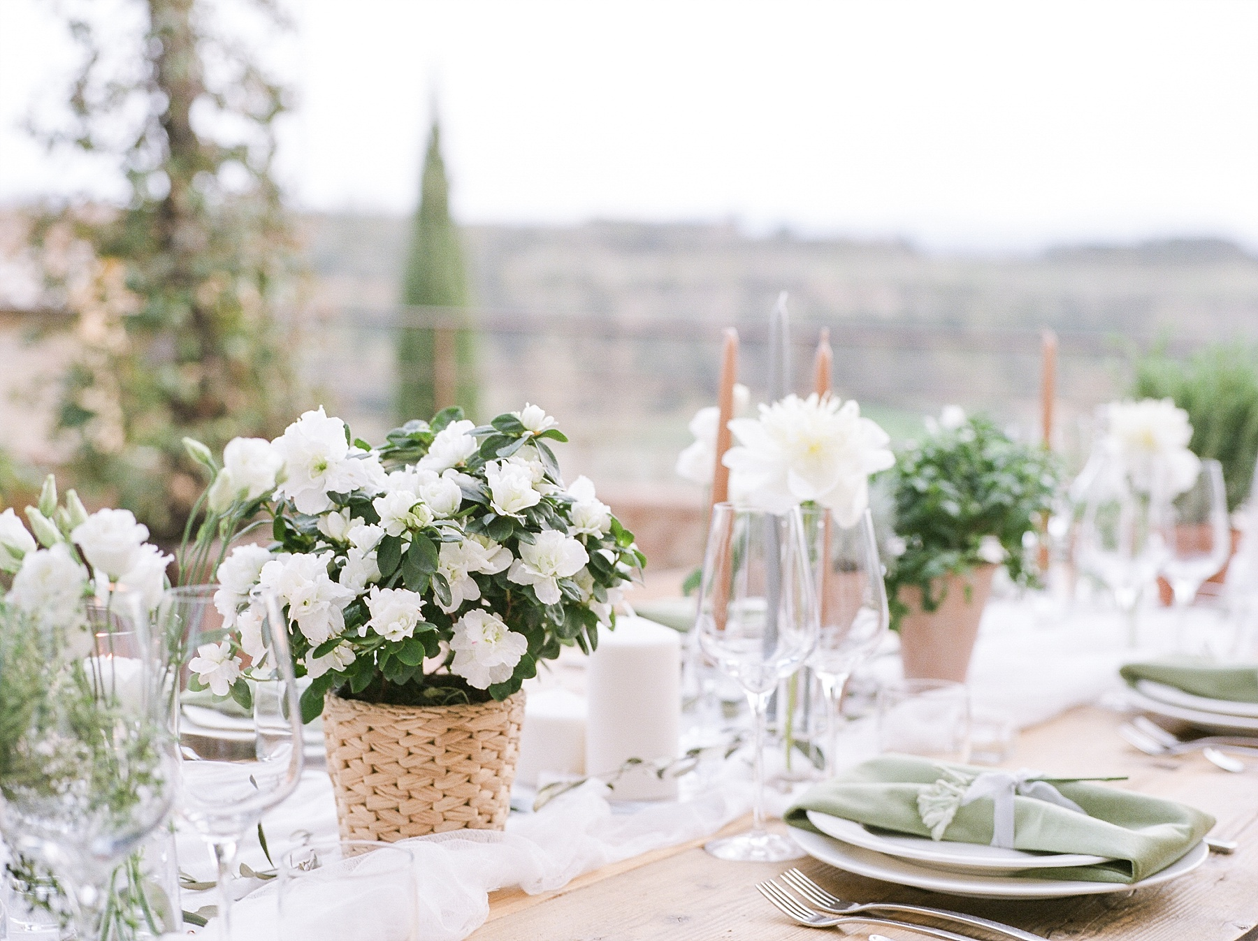 All White Destination Wedding in the Hills of Tuscany Italy at Estate Borgo Petrognano by Kelsi Kliethermes Photography_0022.jpg