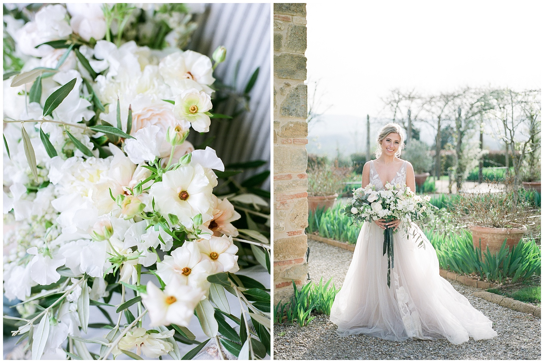 All White Destination Wedding in the Hills of Tuscany Italy at Estate Borgo Petrognano by Kelsi Kliethermes Photography_0030.jpg