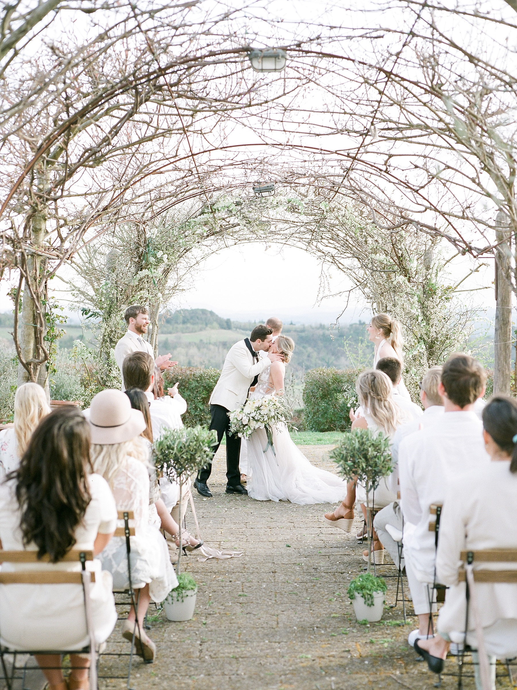 All White Destination Wedding in the Hills of Tuscany Italy at Estate Borgo Petrognano by Kelsi Kliethermes Photography_0049.jpg