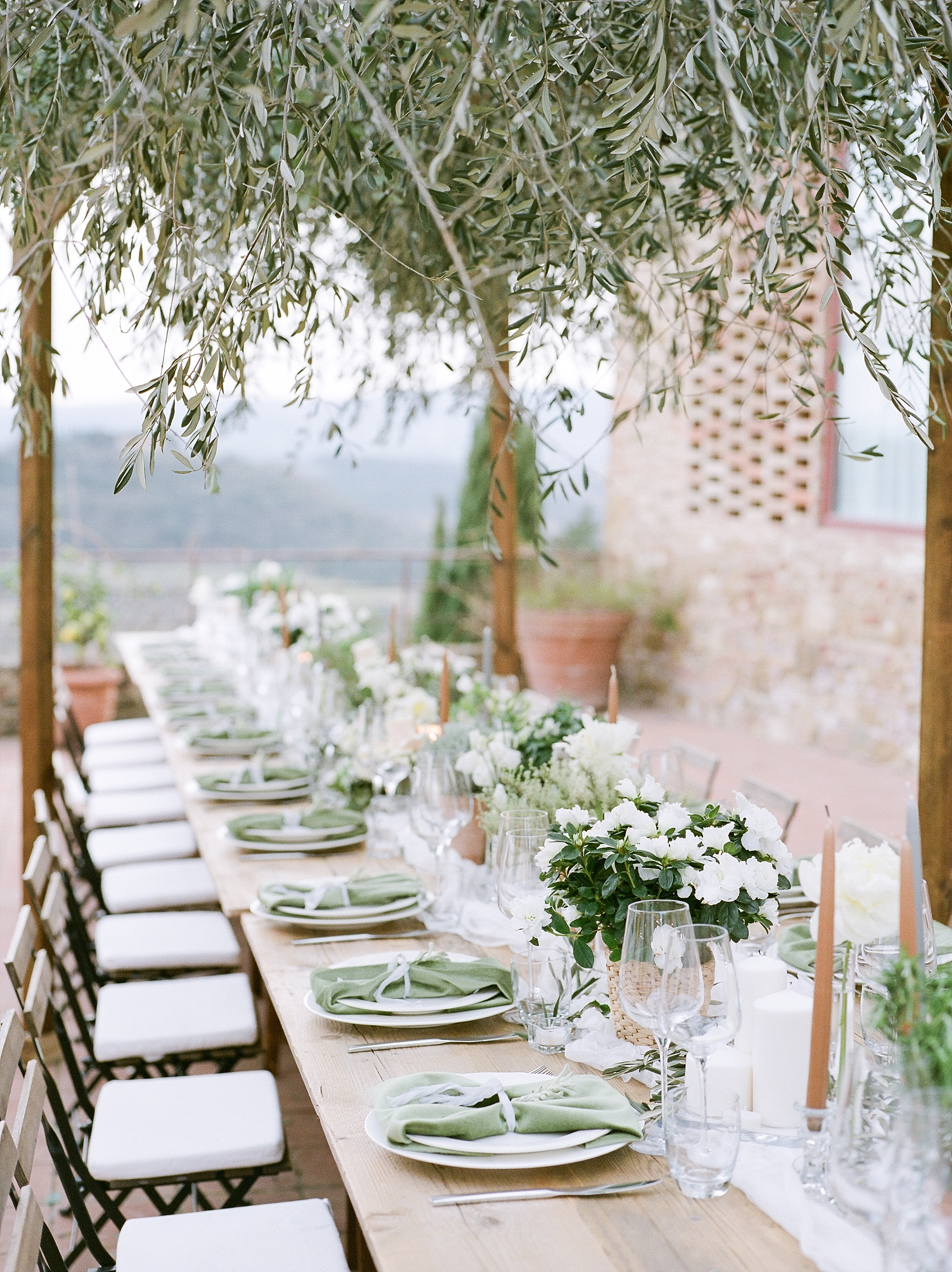 All White Destination Wedding in the Hills of Tuscany Italy at Estate Borgo Petrognano by Kelsi Kliethermes Photography_0068.jpg