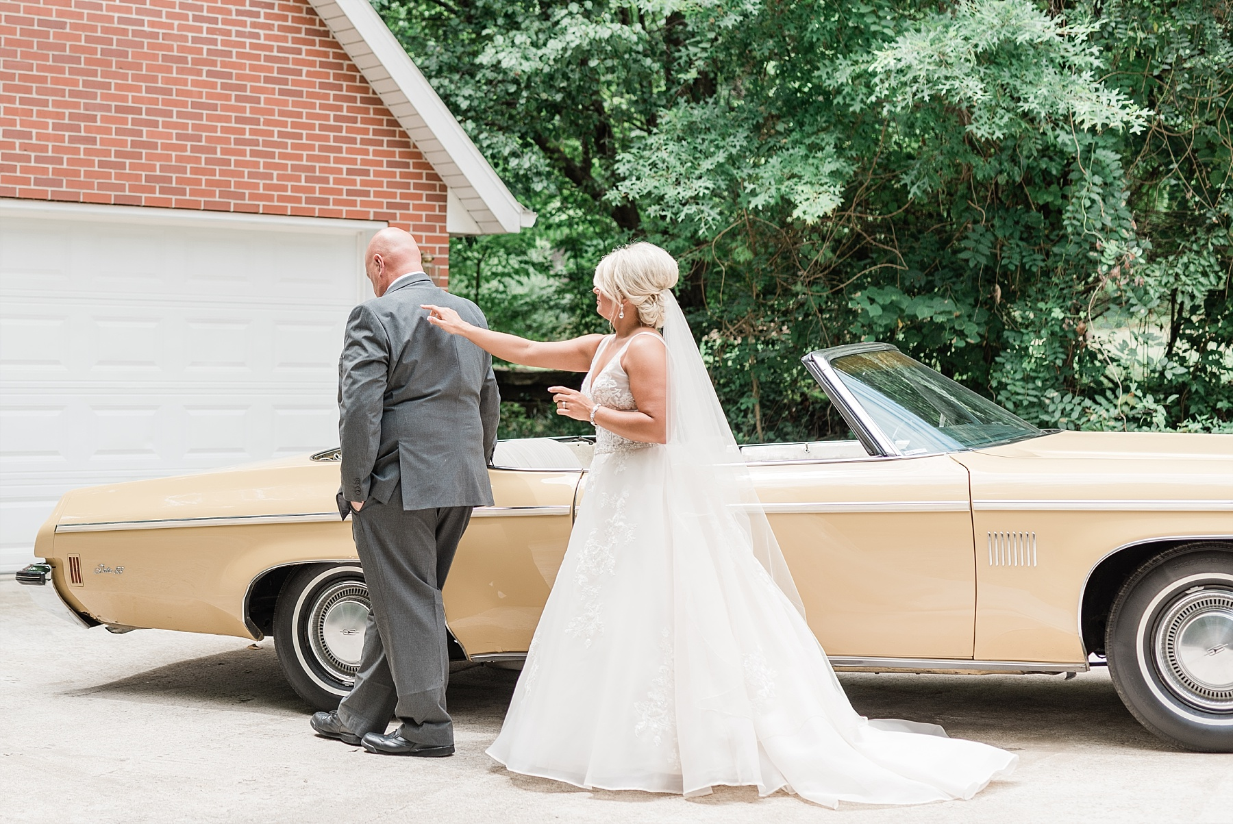 Rose Gold, White, and Greenery High Class Summer Wedding at The Millbottom in Downtown Jefferson City by Kelsi Kliethermes Photography_0016.jpg