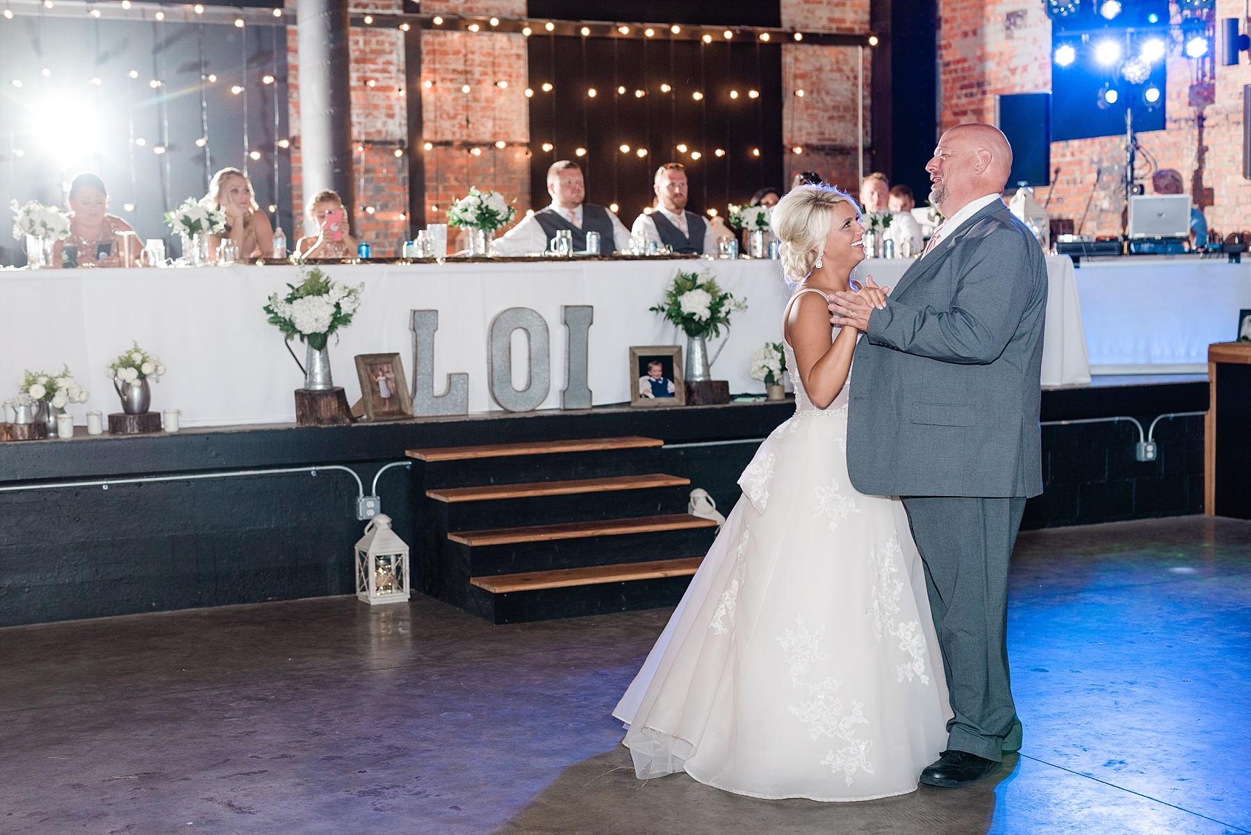 Rose Gold, White, and Greenery High Class Summer Wedding at The Millbottom in Downtown Jefferson City by Kelsi Kliethermes Photography_0053.jpg