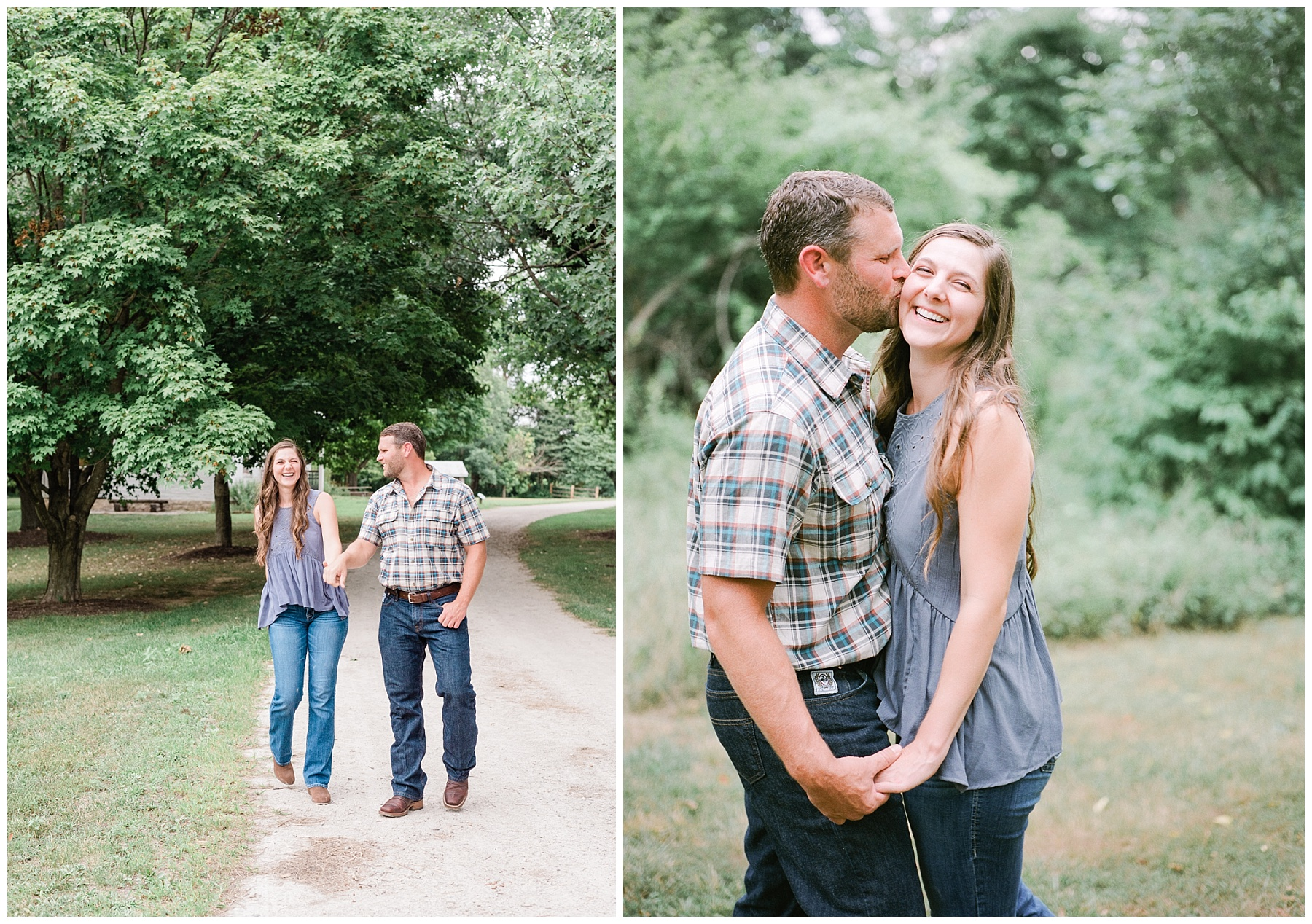 Sunset Engagement Session at Faust Park Chesterfield Missouri by Kelsi Kliethermes Photography_0014.jpg
