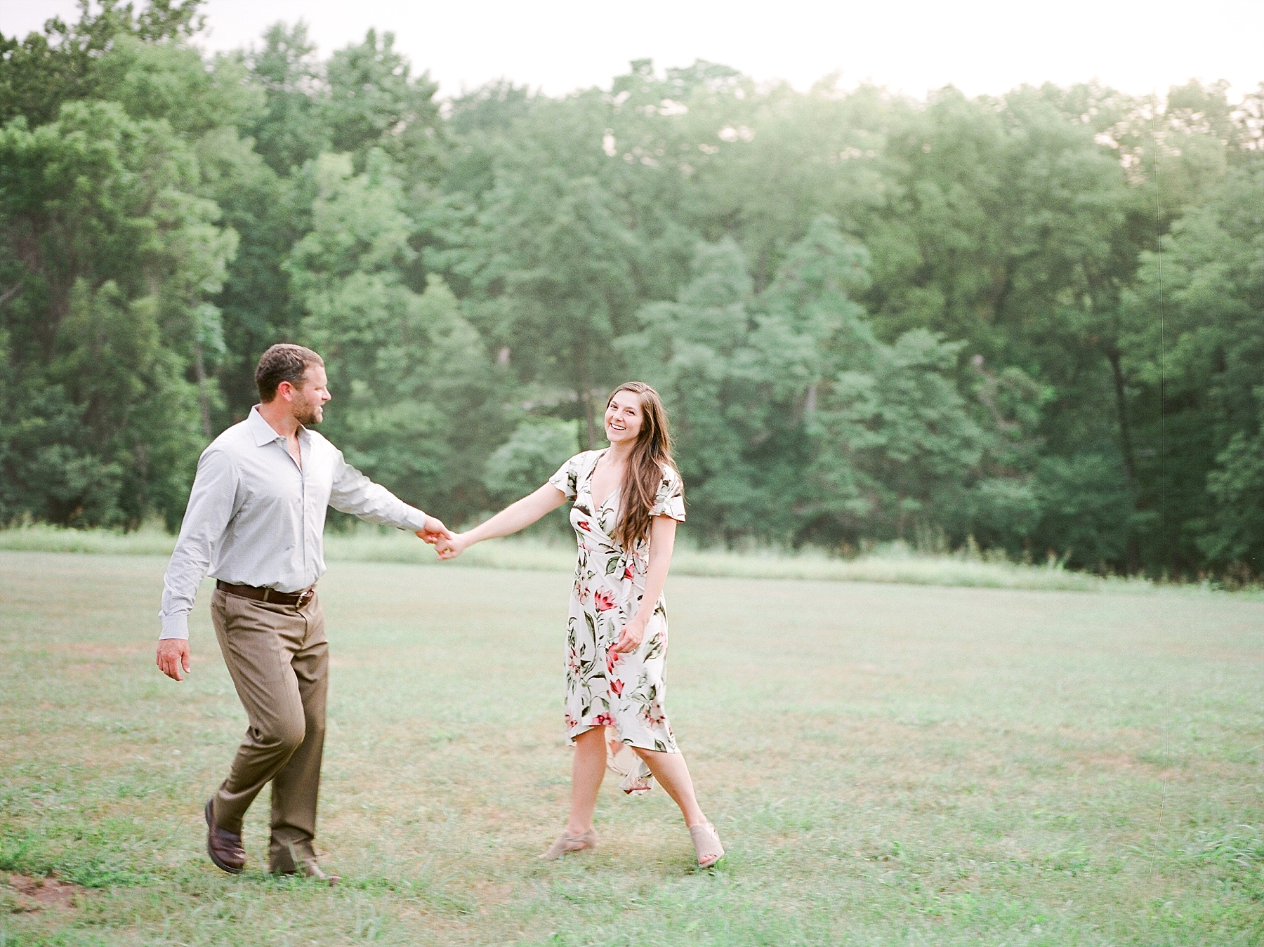 Sunset Engagement Session at Faust Park Chesterfield Missouri by Kelsi Kliethermes Photography_0018.jpg