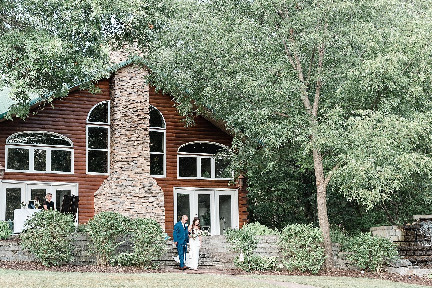 Romantic Summer Sunset Wedding Ceremony at Little Piney Lodge St. Louis Missouri by Kelsi Kliethermes Photography Fine Art Photographer_0007.jpg