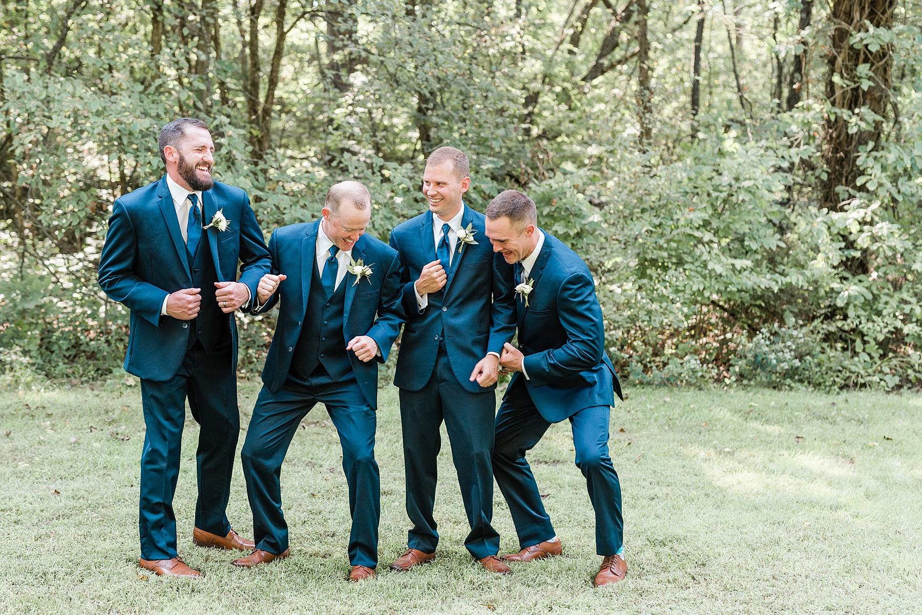 Romantic Summer Sunset Wedding Ceremony at Little Piney Lodge St. Louis Missouri by Kelsi Kliethermes Photography Fine Art Photographer_0023.jpg