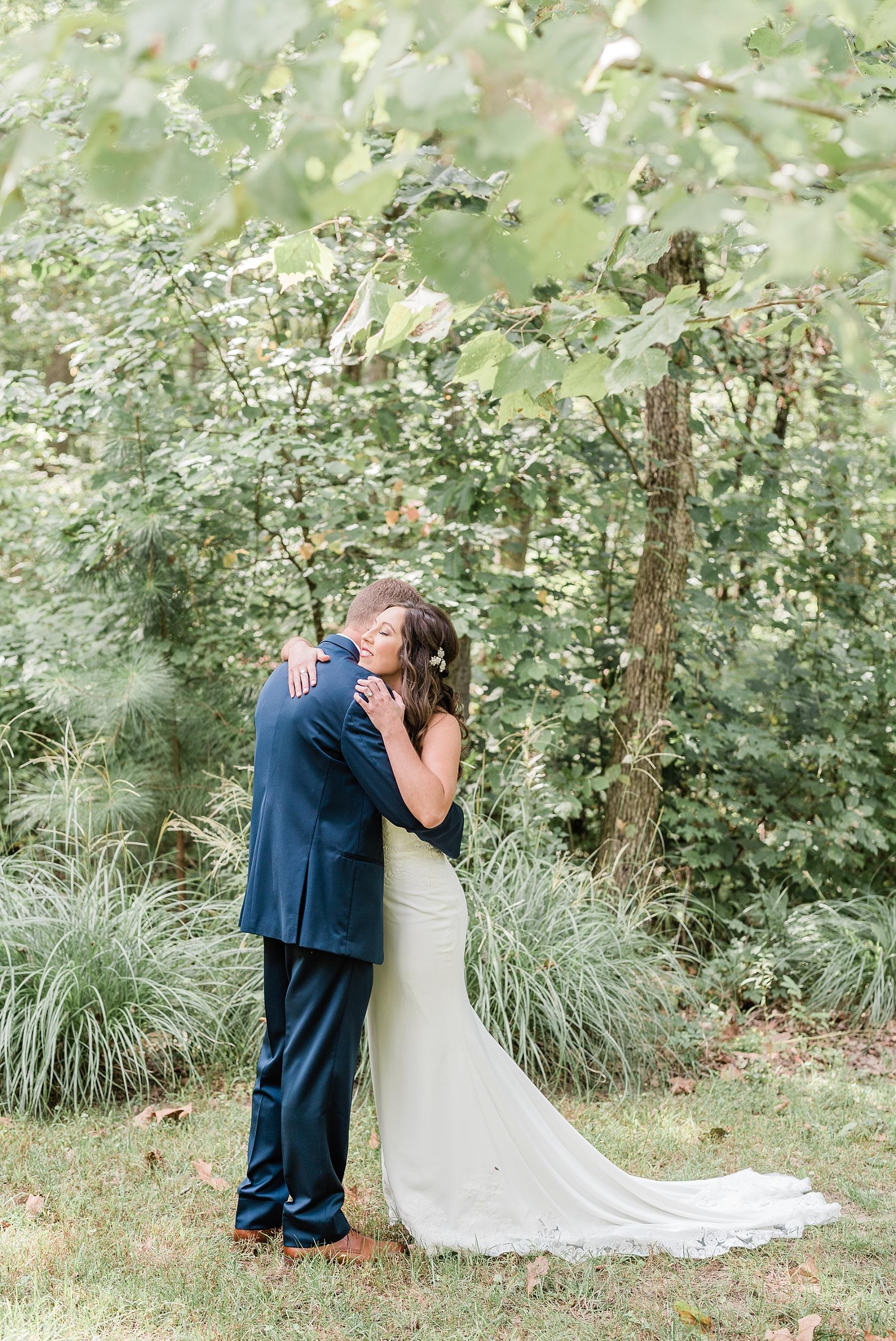 Romantic Summer Sunset Wedding Ceremony at Little Piney Lodge St. Louis Missouri by Kelsi Kliethermes Photography Fine Art Photographer_0032.jpg