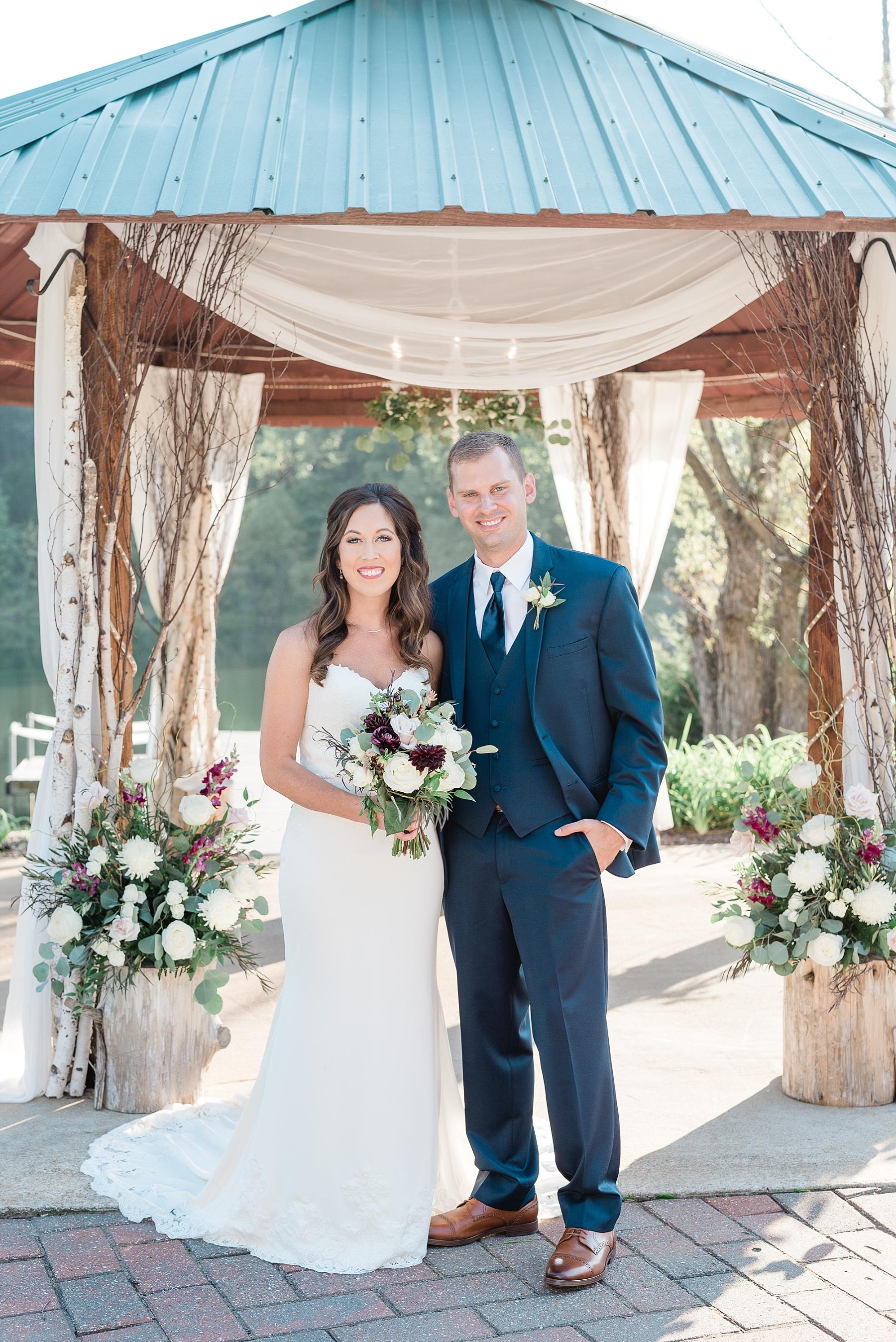 Romantic Summer Sunset Wedding Ceremony at Little Piney Lodge St. Louis Missouri by Kelsi Kliethermes Photography Fine Art Photographer_0038.jpg