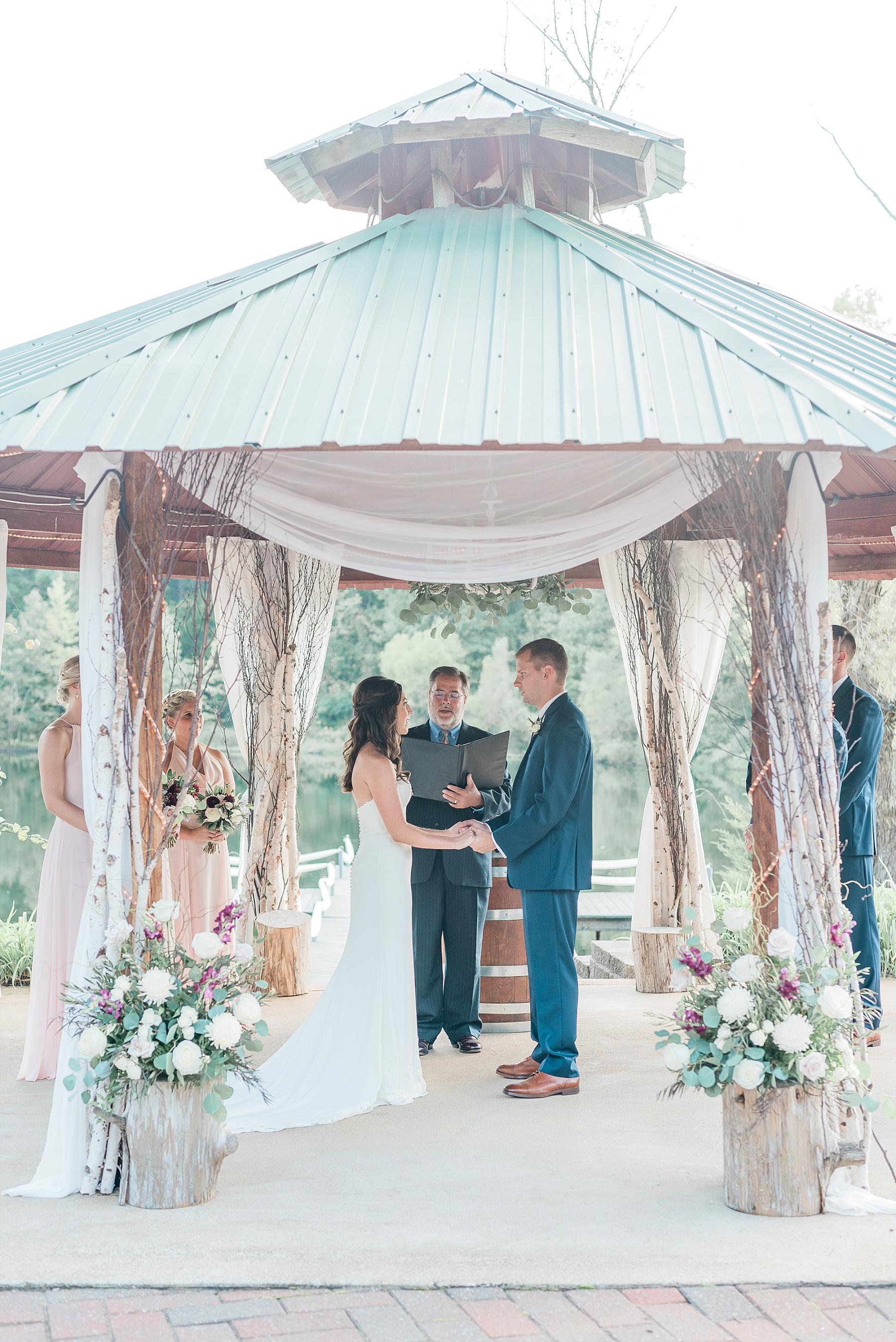Romantic Summer Sunset Wedding Ceremony at Little Piney Lodge St. Louis Missouri by Kelsi Kliethermes Photography Fine Art Photographer_0057.jpg