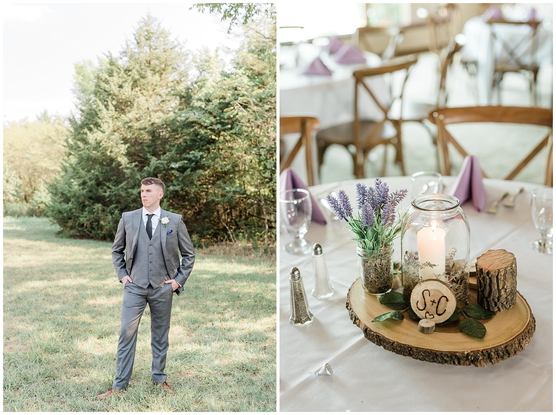 Lavender Hues at Summer Wedding at Innsbrook Resort by Kelsi Kliethermes Photography St. Louis Wedding Photographer_0021.jpg