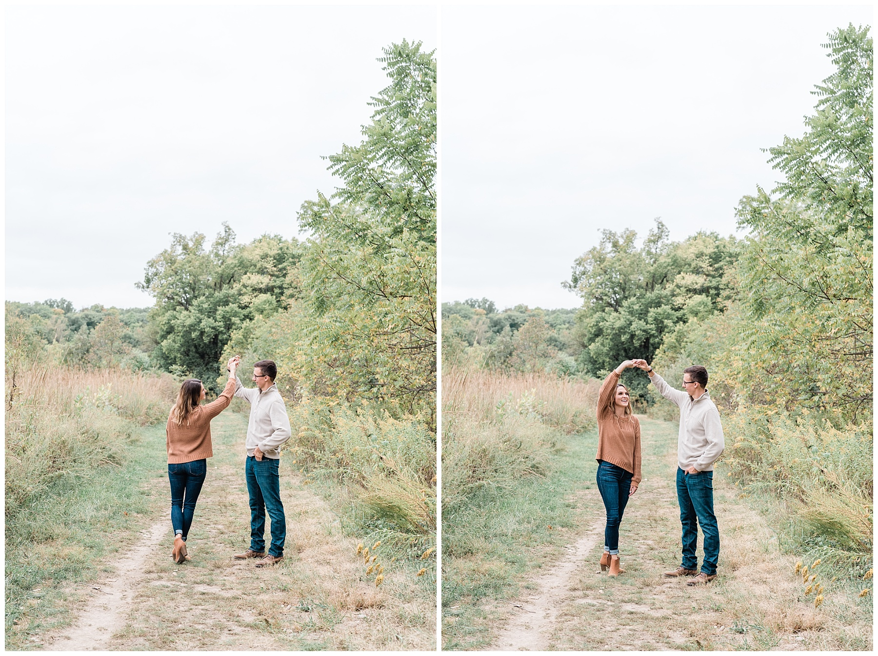 Autumn Engagement Session at Grindstone Nature Trail Columbia Missouri by Kelsi Kliethermes Photography_0004.jpg