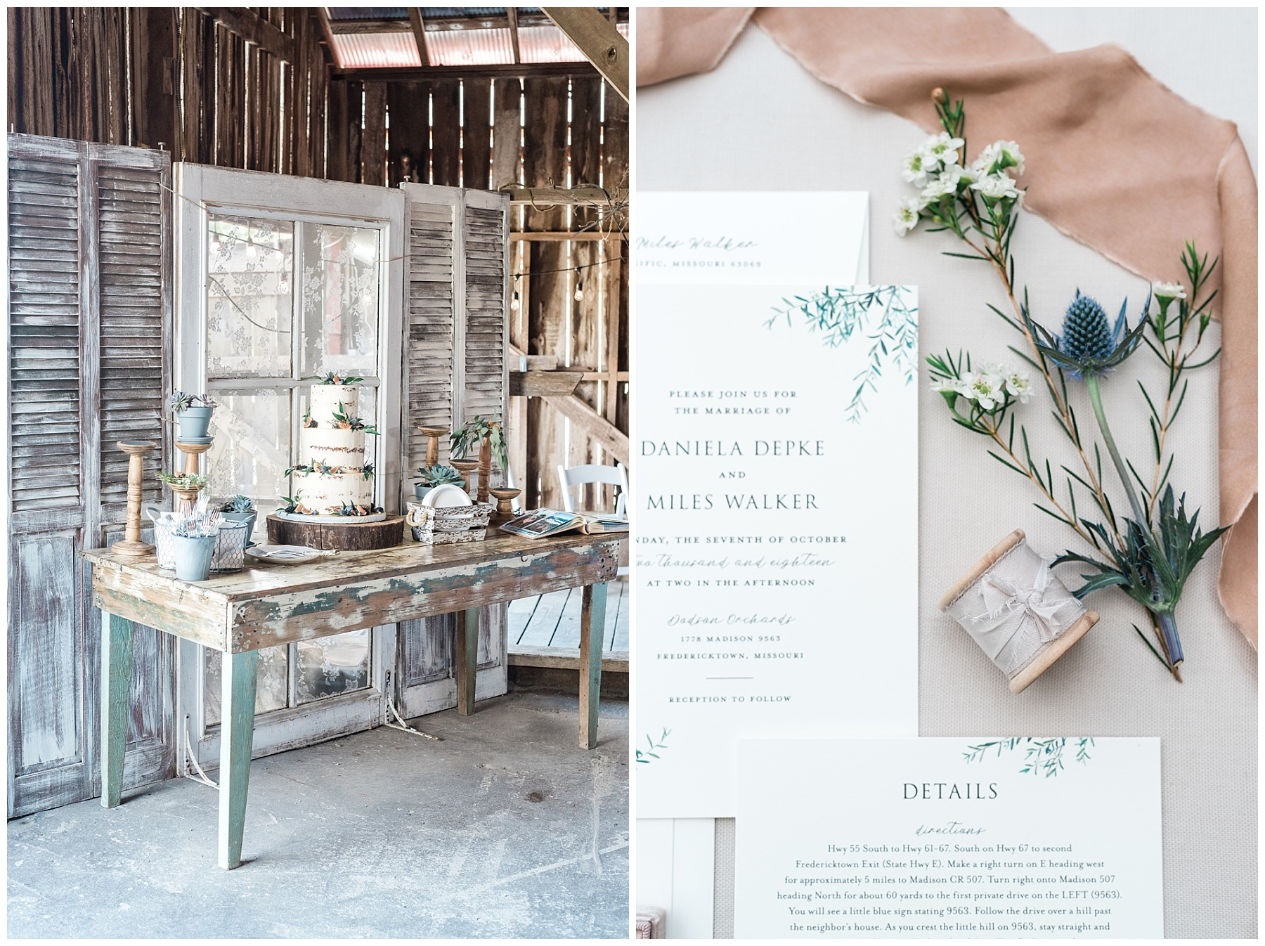 Fine Art Sunset Themed Wedding in Autumn at Dodson Orchards by Kelsi Kliethermes Photography_0038.jpg
