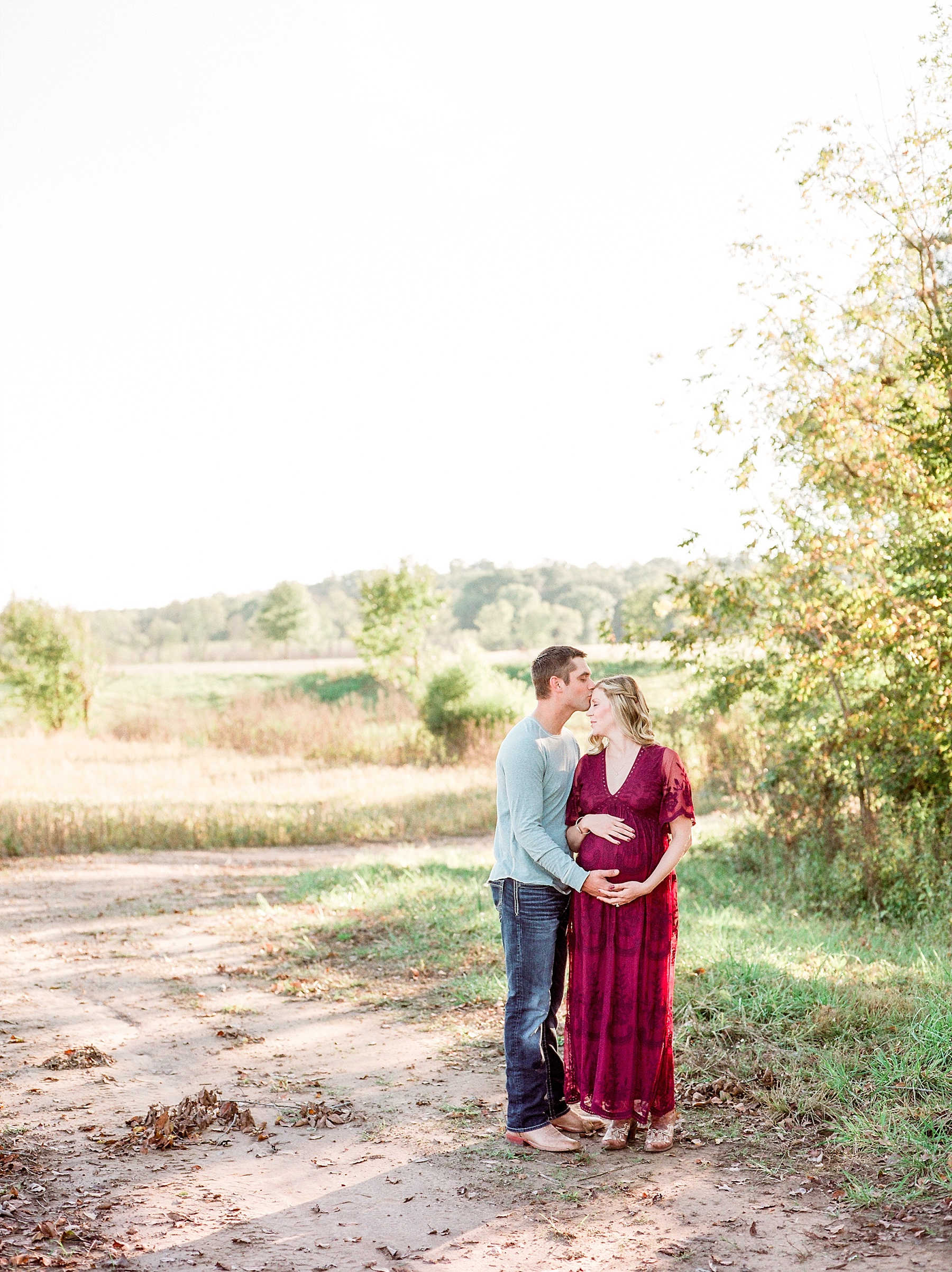 Sunset Maternity Session on Family Farm in Mid Missouri by Kelsi Kliethermes Photography_0013.jpg
