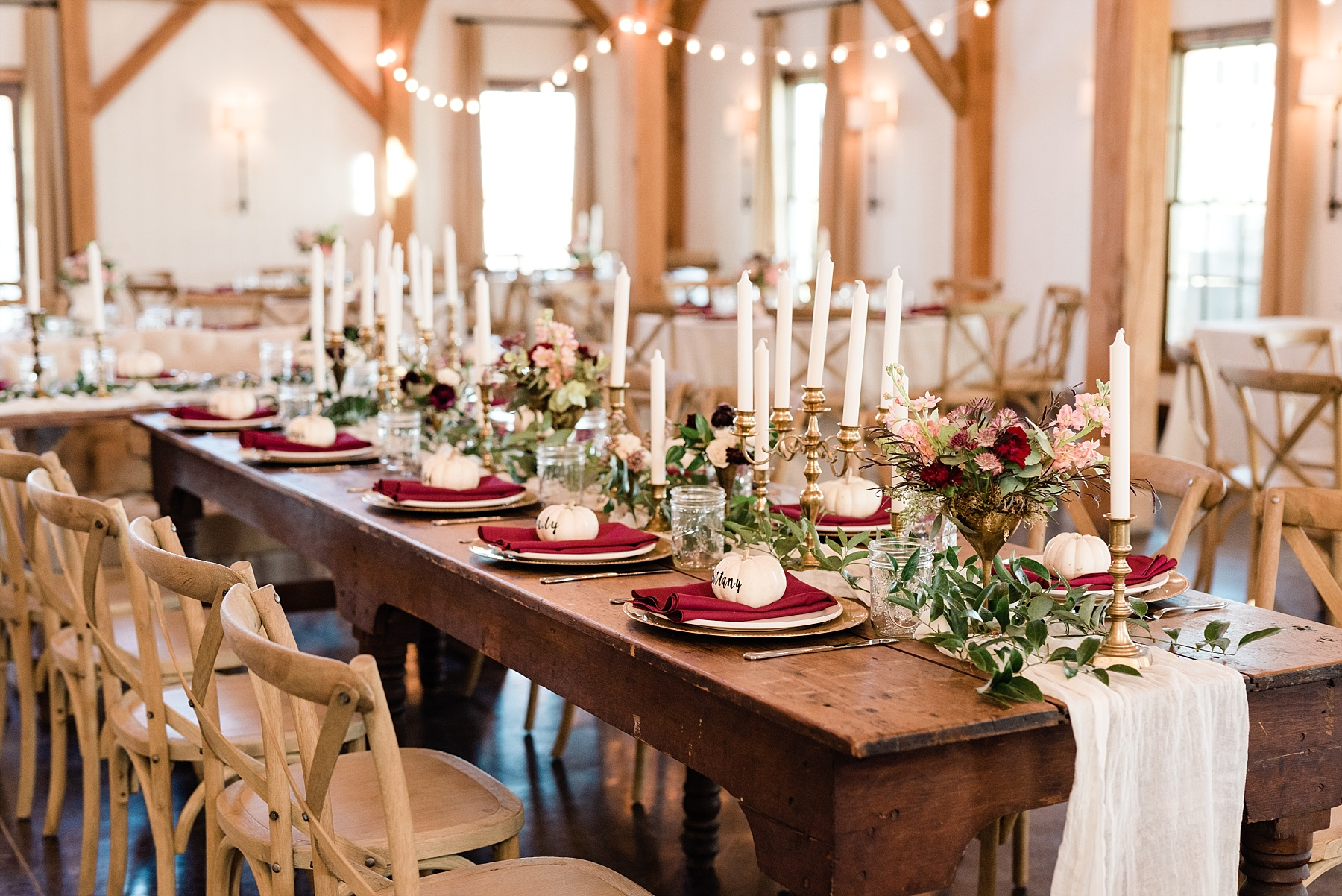 Golden Autumn Outdoor Wedding with Ivory, Bergundy, and Blush Color Palette at Blue Bell Farms  by Kelsi Kliethermes Photography_0021.jpg