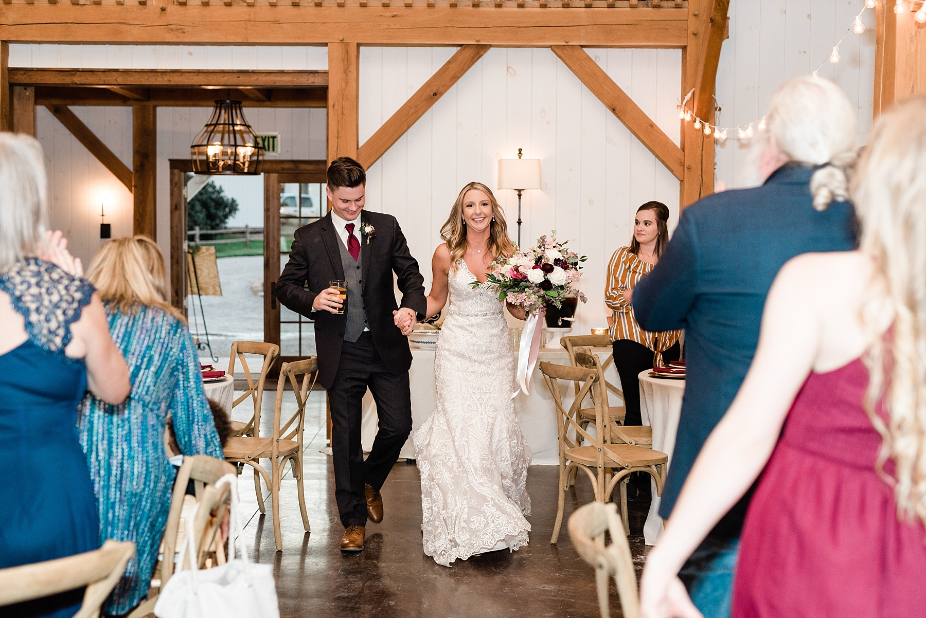 Golden Autumn Outdoor Wedding with Ivory, Bergundy, and Blush Color Palette at Blue Bell Farms  by Kelsi Kliethermes Photography_0037.jpg