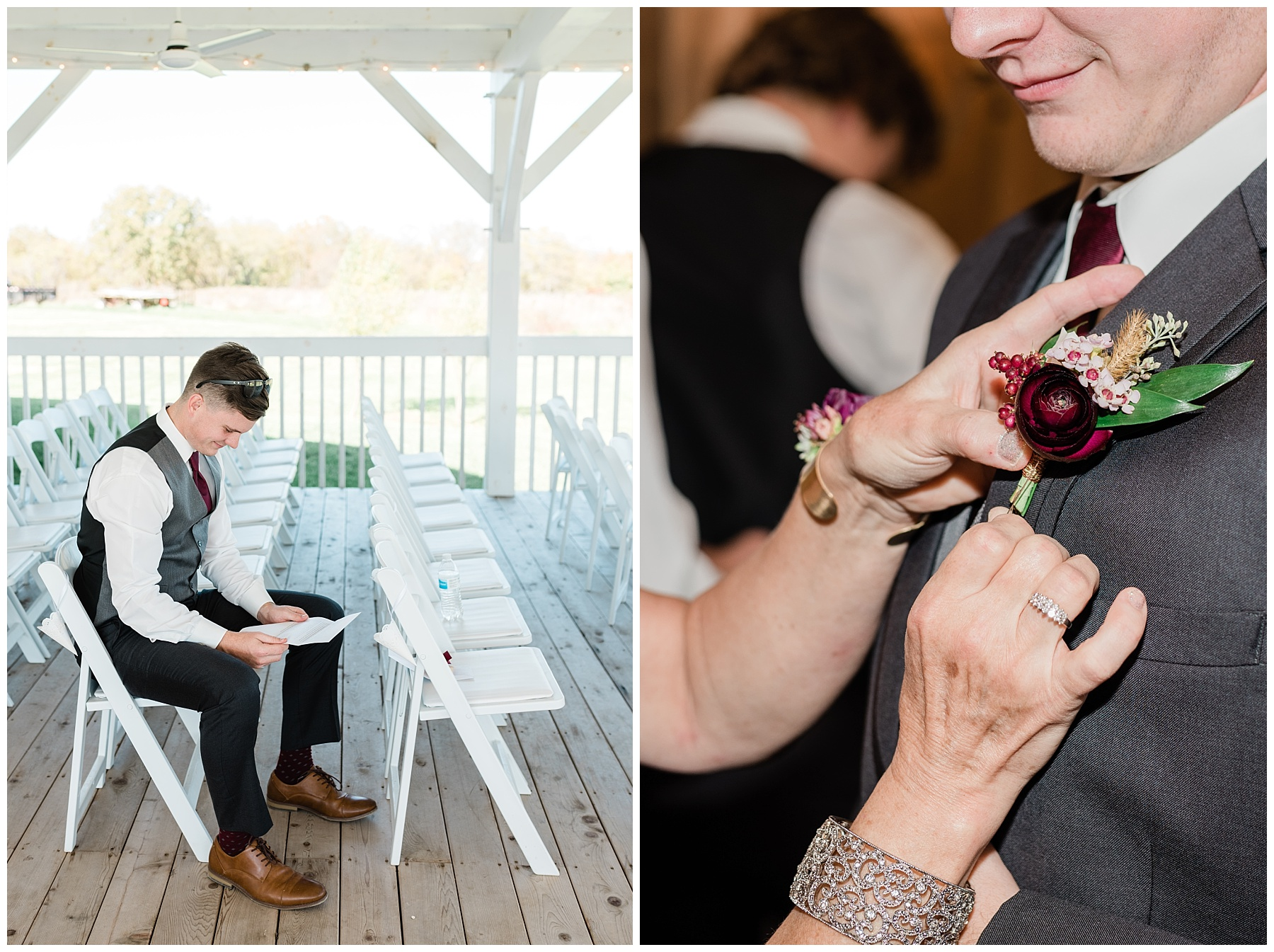 Golden Autumn Outdoor Wedding with Ivory, Bergundy, and Blush Color Palette at Blue Bell Farms  by Kelsi Kliethermes Photography_0042.jpg