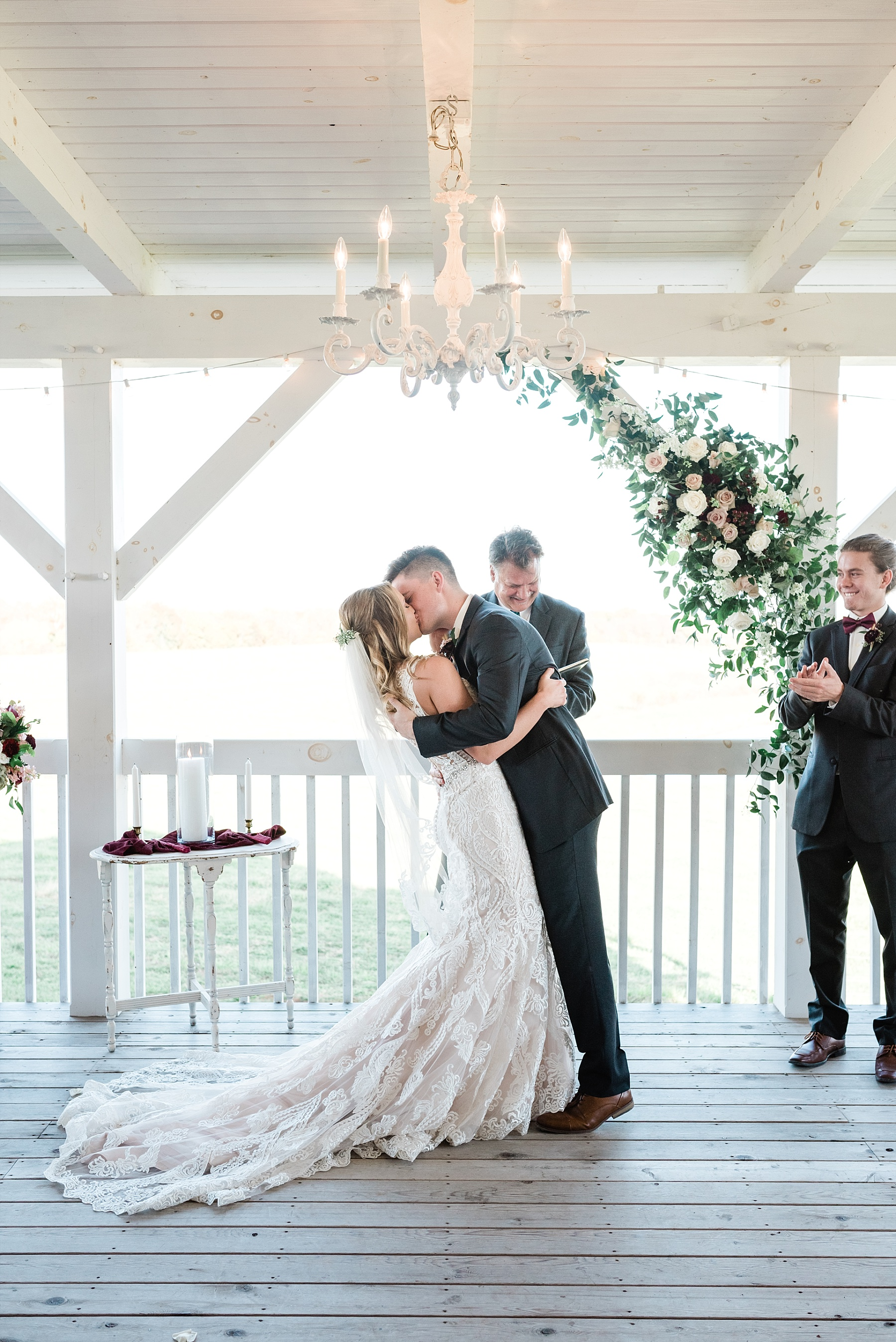 Golden Autumn Outdoor Wedding with Ivory, Bergundy, and Blush Color Palette at Blue Bell Farms  by Kelsi Kliethermes Photography_0055.jpg