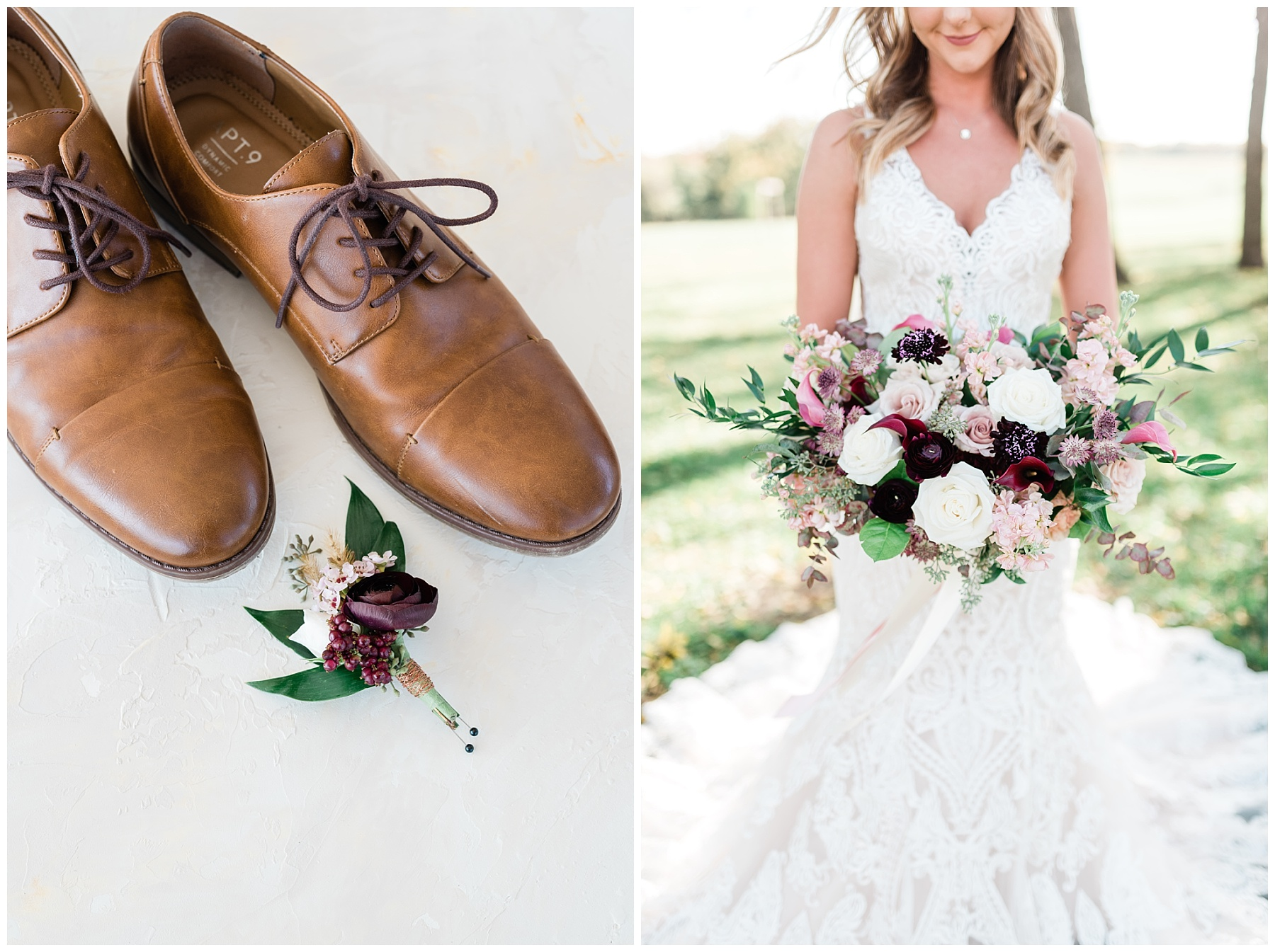 Golden Autumn Outdoor Wedding with Ivory, Bergundy, and Blush Color Palette at Blue Bell Farms  by Kelsi Kliethermes Photography_0073.jpg