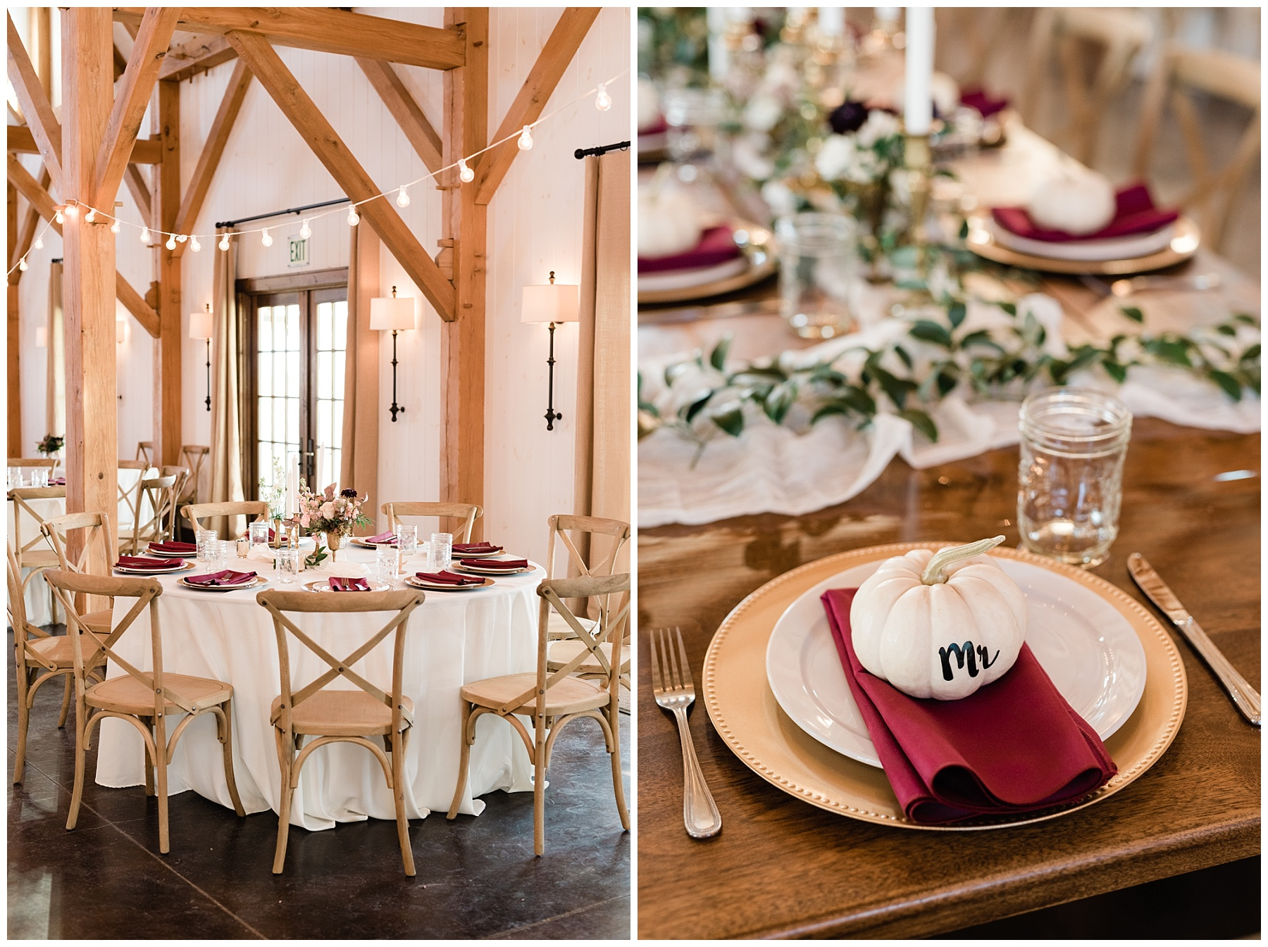 Golden Autumn Outdoor Wedding with Ivory, Bergundy, and Blush Color Palette at Blue Bell Farms  by Kelsi Kliethermes Photography_0079.jpg