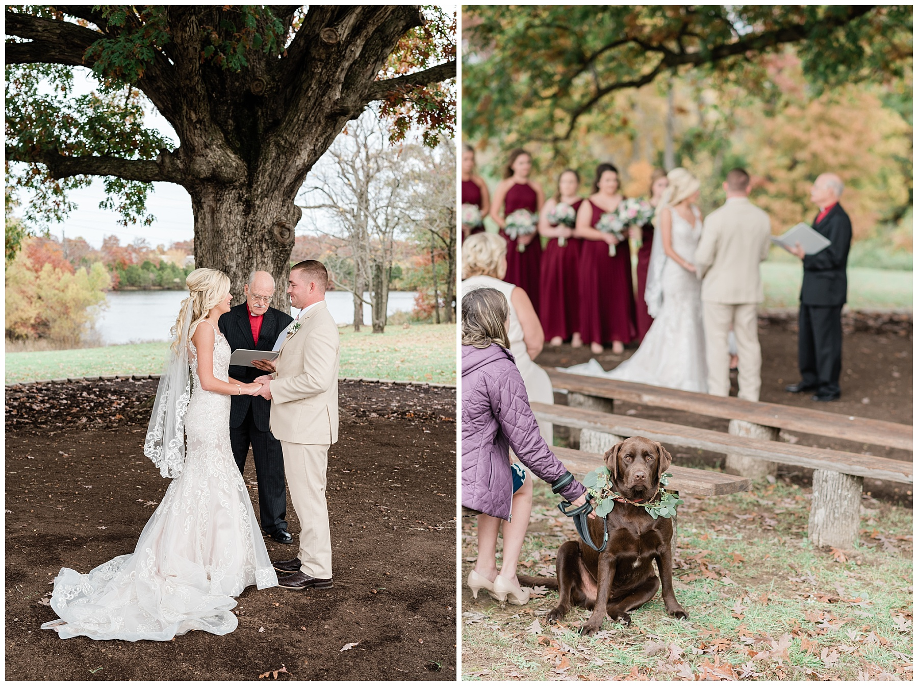 Lakeside Wedding in Fall at Mighty Oak Lodge by Misouri Wedding Photographer Kelsi Kliethermes Photography_0028.jpg