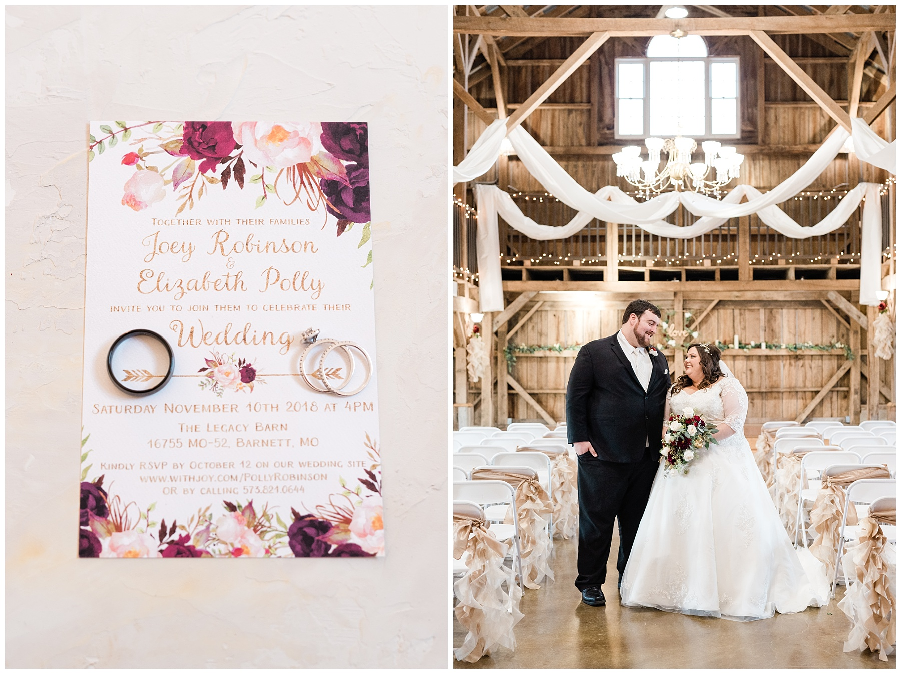 Golden Winter Wedding at The Legacy Barn in Barnett Missouri by Kelsi Kliethermes Photography Columbia Missouri Wedding Photographer_0026.jpg