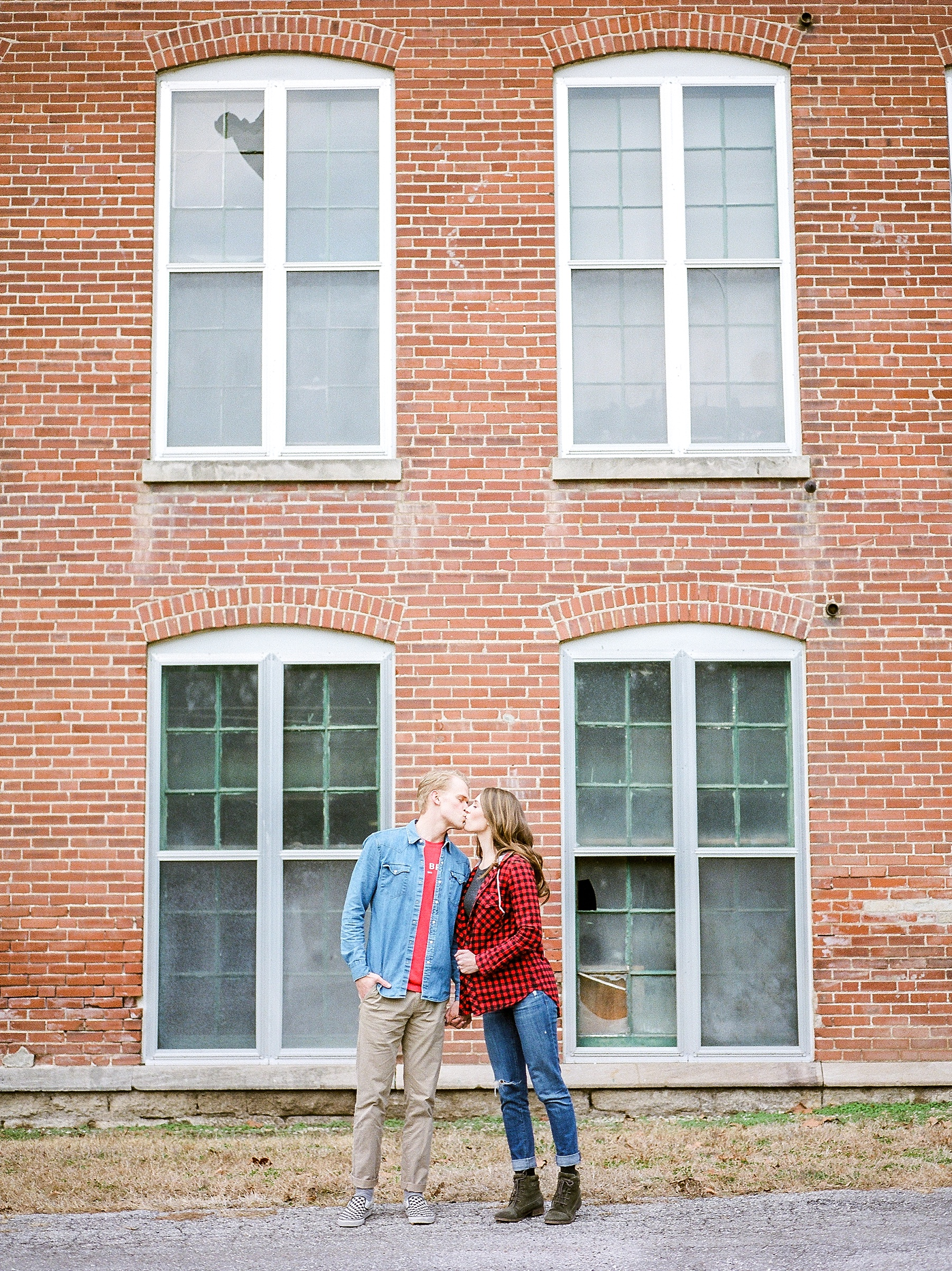 Downtown Jefferson City Engagement Session in Winter at Old Shoe Factory by Kelsi Kliethermes Photography Kansas City Missouri Wedding Photographer_0011.jpg