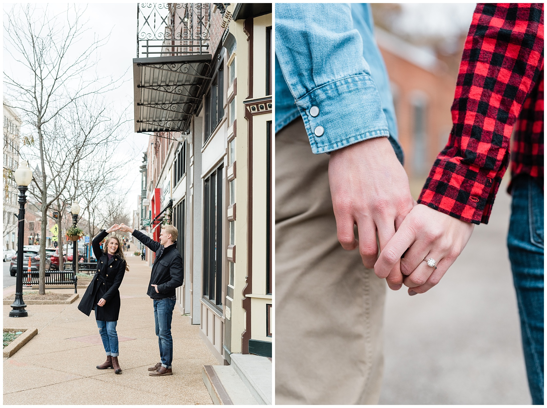 Downtown Jefferson City Engagement Session in Winter at Old Shoe Factory by Kelsi Kliethermes Photography Kansas City Missouri Wedding Photographer_0001.jpg
