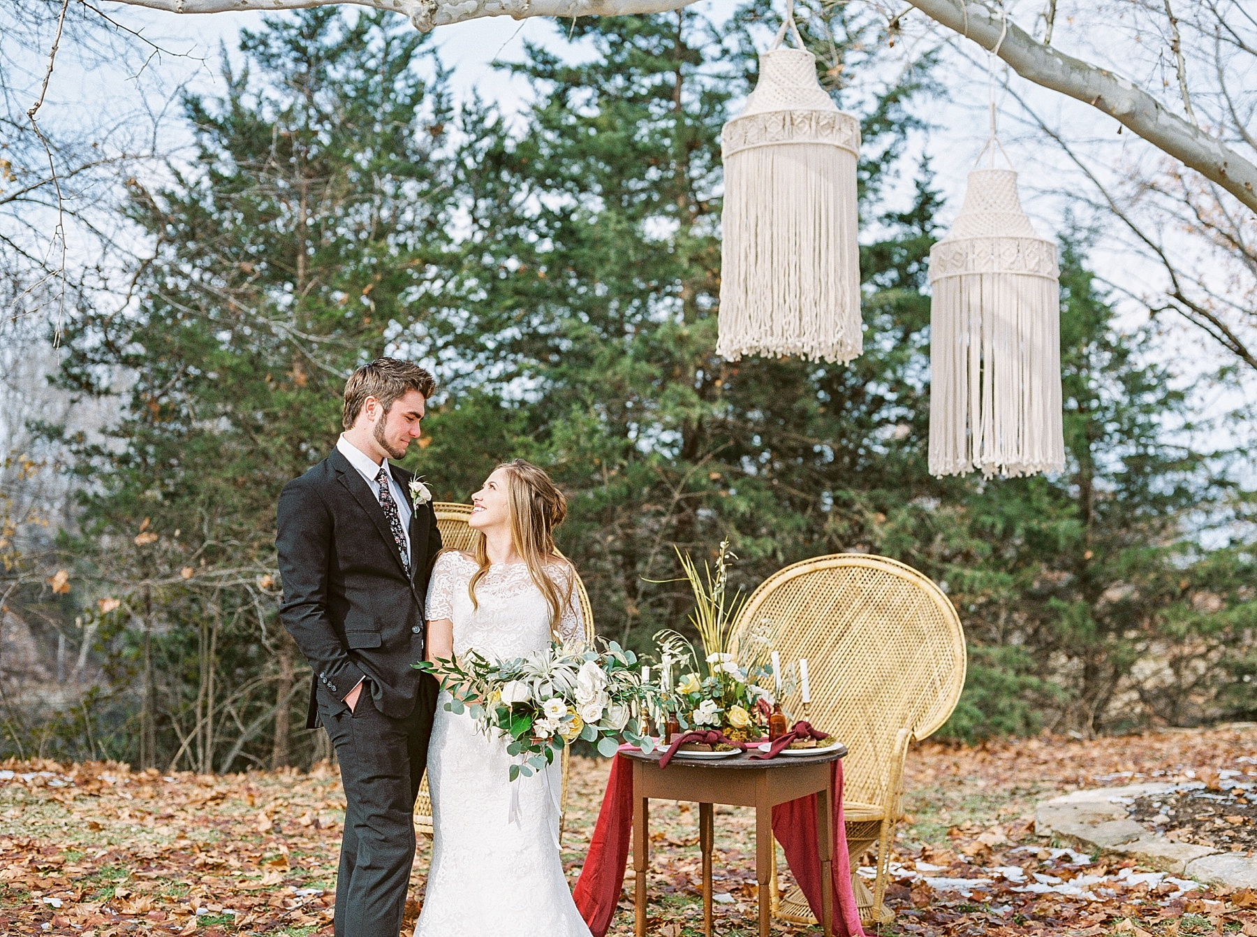 Snowy Winter Wedding at Wildcliff Events Lake With Earthy Jewel Tones and Organic Refined Style by Kelsi Kliethermes Photography Kansas City Missouri Wedding Photographer_0051.jpg