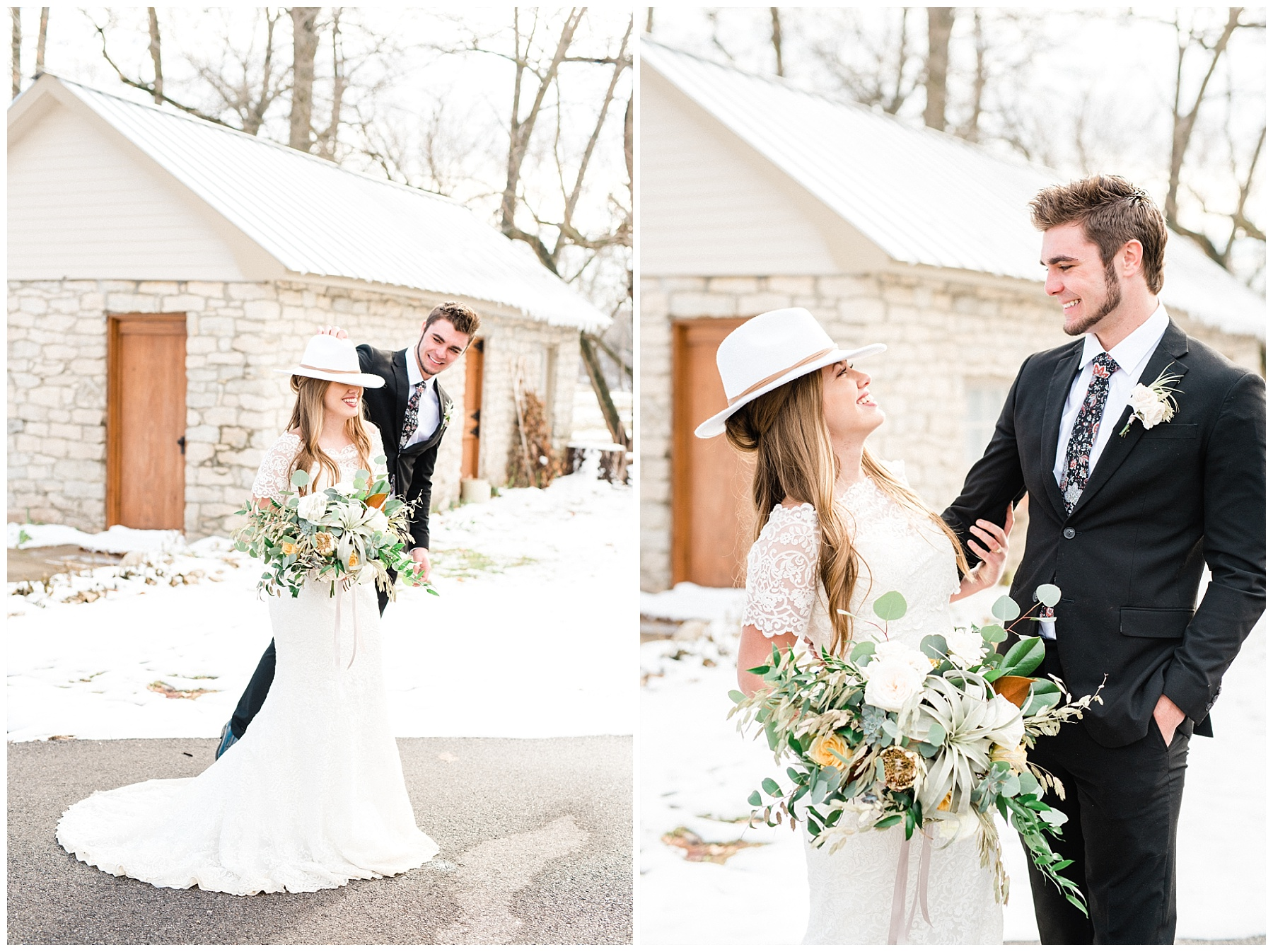Snowy Winter Wedding at Wildcliff Events Lake With Earthy Jewel Tones and Organic Refined Style by Kelsi Kliethermes Photography Kansas City Missouri Wedding Photographer_0072.jpg