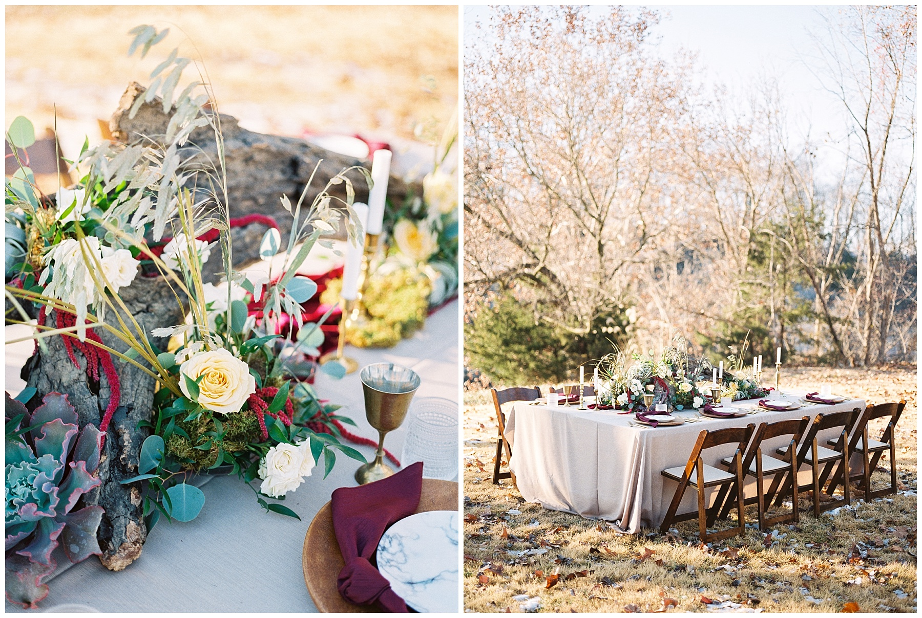 Snowy Winter Wedding at Wildcliff Events Lake With Earthy Jewel Tones and Organic Refined Style by Kelsi Kliethermes Photography Kansas City Missouri Wedding Photographer_0079.jpg