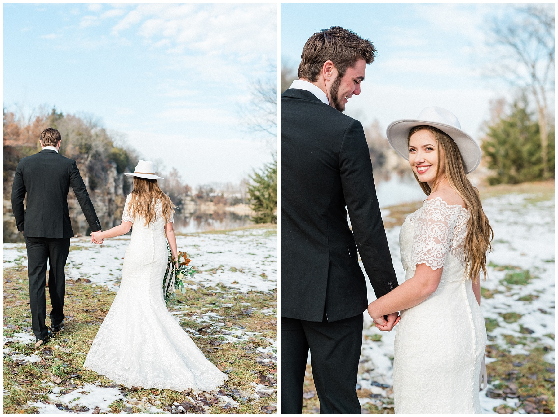 Snowy Winter Wedding at Wildcliff Events Lake With Earthy Jewel Tones and Organic Refined Style by Kelsi Kliethermes Photography Kansas City Missouri Wedding Photographer_0090.jpg