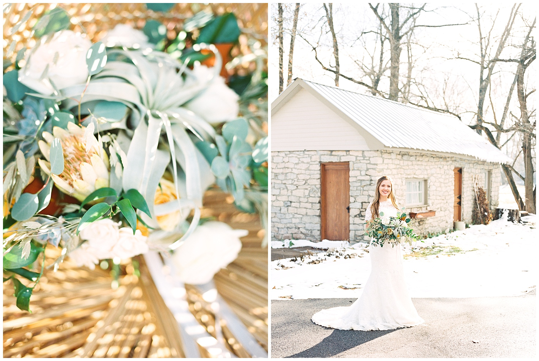 Snowy Winter Wedding at Wildcliff Events Lake With Earthy Jewel Tones and Organic Refined Style by Kelsi Kliethermes Photography Kansas City Missouri Wedding Photographer_0097.jpg