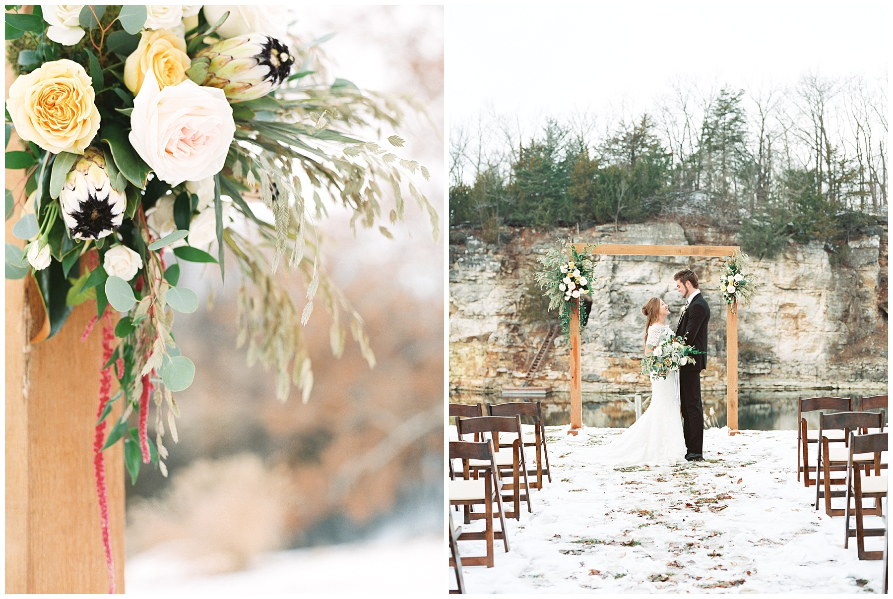 Snowy Winter Wedding at Wildcliff Events Lake With Earthy Jewel Tones and Organic Refined Style by Kelsi Kliethermes Photography Kansas City Missouri Wedding Photographer_0100.jpg