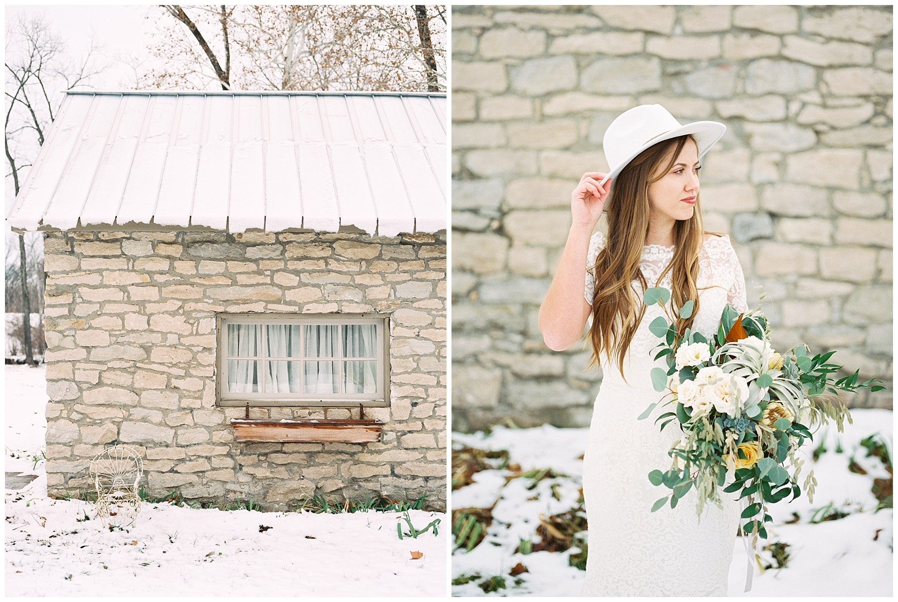 Snowy Winter Wedding at Wildcliff Events Lake With Earthy Jewel Tones and Organic Refined Style by Kelsi Kliethermes Photography Kansas City Missouri Wedding Photographer_0101.jpg
