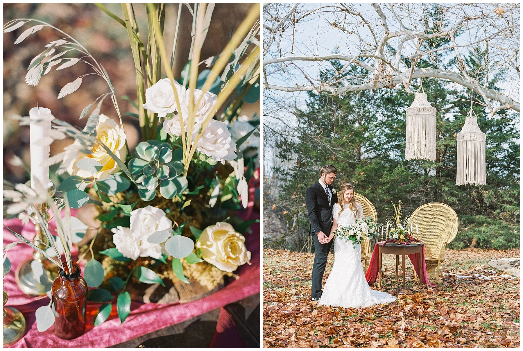 Snowy Winter Wedding at Wildcliff Events Lake With Earthy Jewel Tones and Organic Refined Style by Kelsi Kliethermes Photography Kansas City Missouri Wedding Photographer_0104.jpg