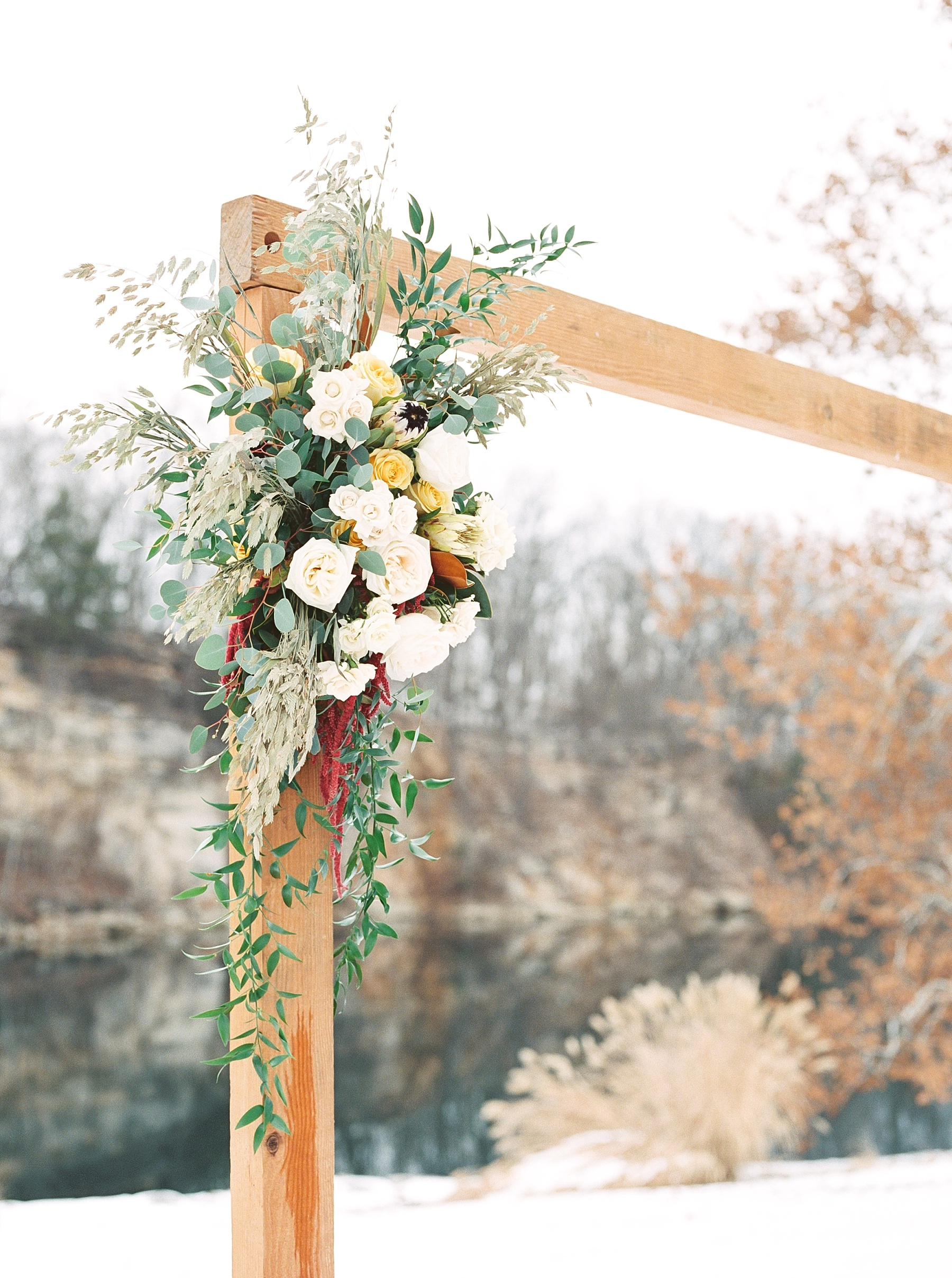 Snowy Winter Wedding at Wildcliff Events Lake With Earthy Jewel Tones and Organic Refined Style by Kelsi Kliethermes Photography Kansas City Missouri Wedding Photographer_0118.jpg