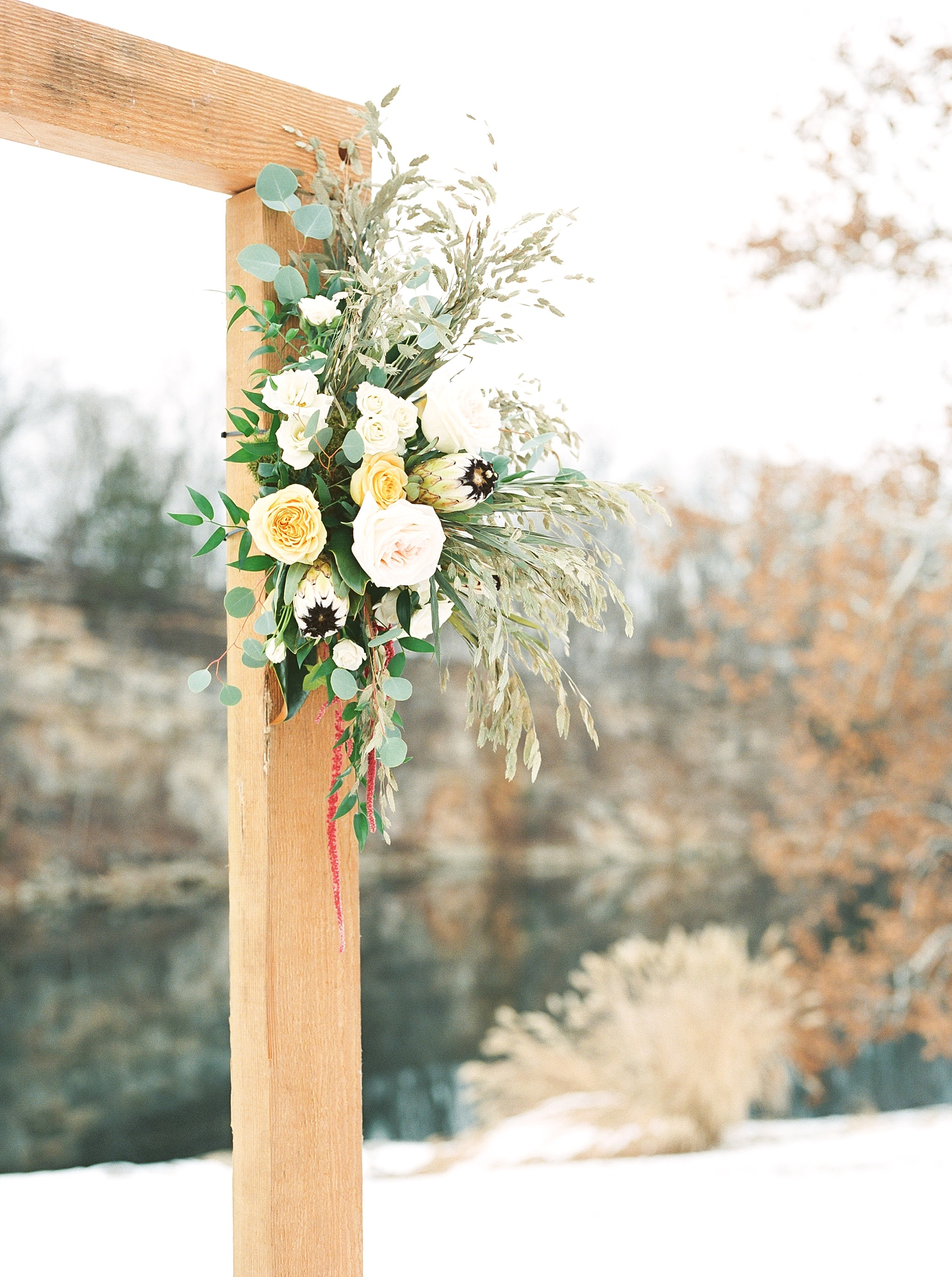 Snowy Winter Wedding at Wildcliff Events Lake With Earthy Jewel Tones and Organic Refined Style by Kelsi Kliethermes Photography Kansas City Missouri Wedding Photographer_0120.jpg