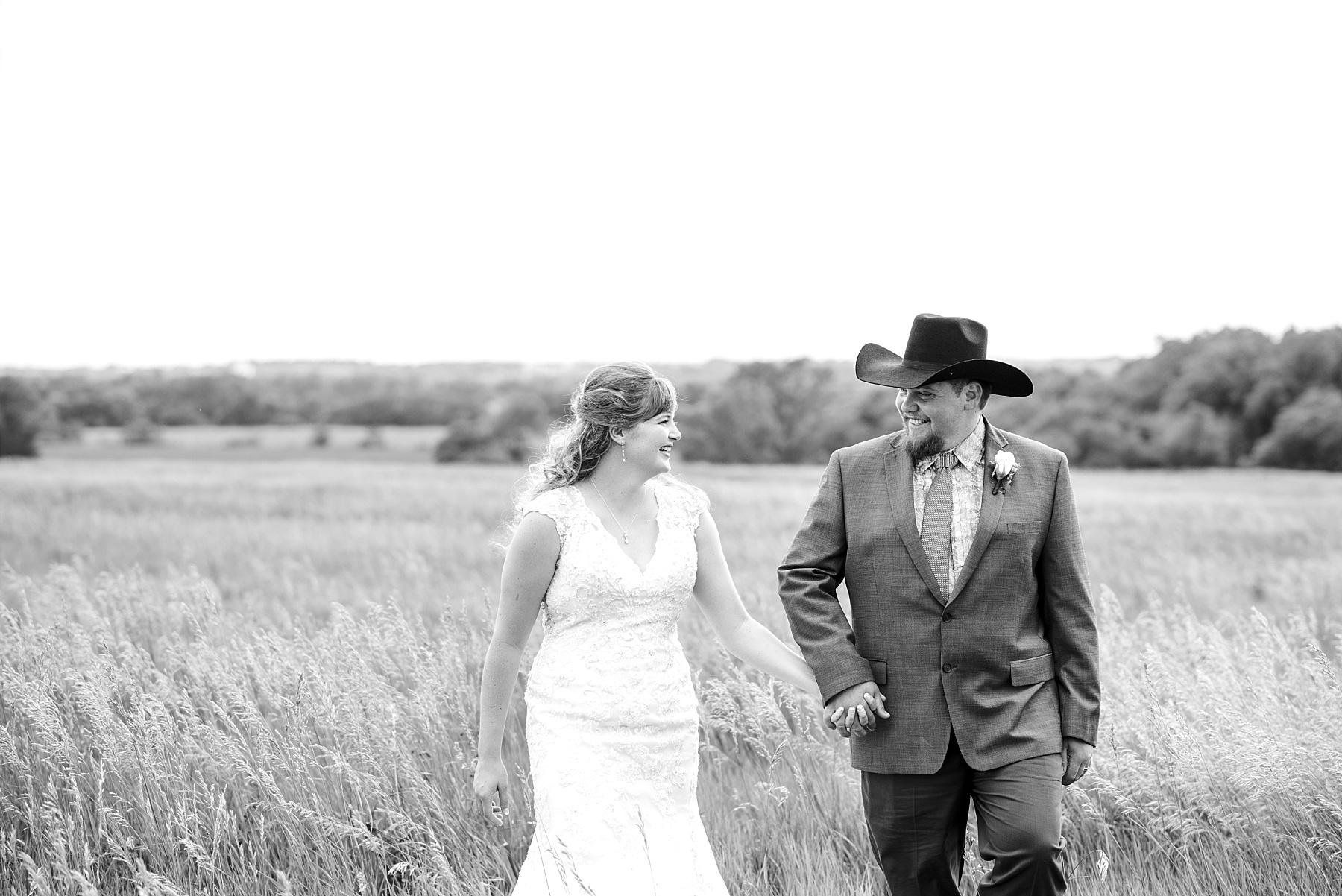 Kansas Plains Bridal Portrait by Kelsi Kliethermes Photography