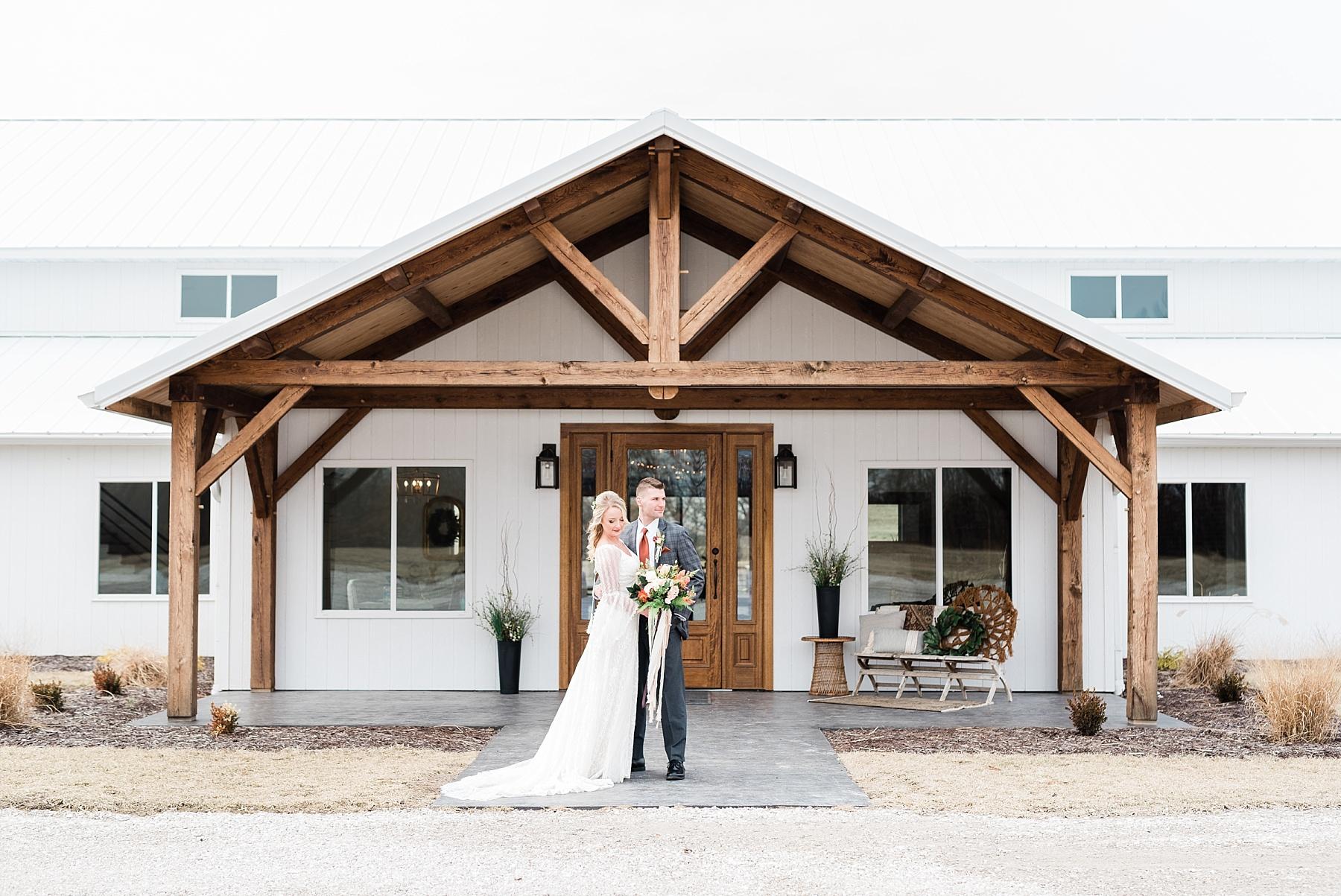 Eclectic Scandinavian Winter Wedding in All White Venue Emerson Fields by Kelsi Kliethermes Photography Best Missouri and Maui Wedding Photographer_0021.jpg