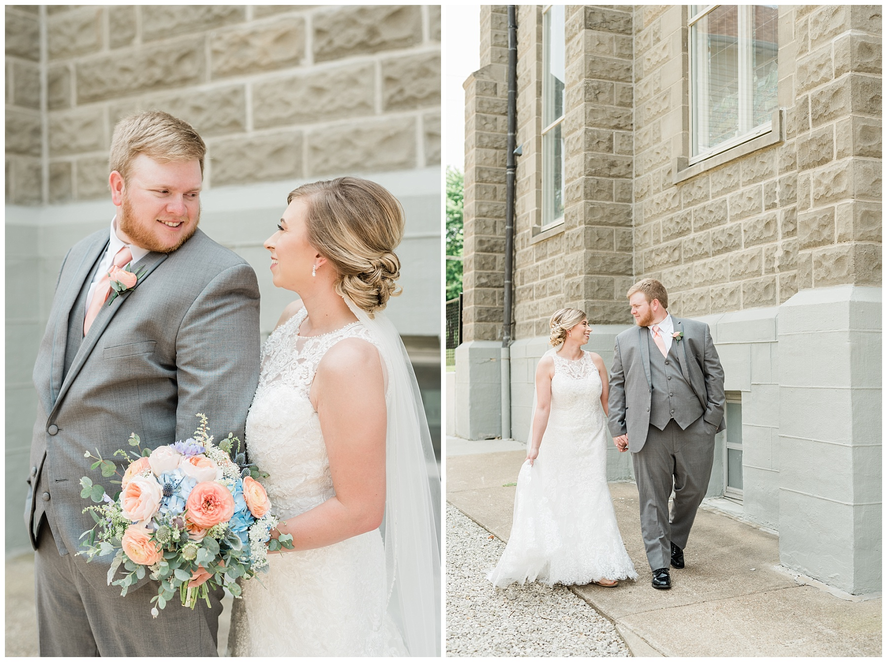 Peach and Dusty Blue Spring Wedding in Rolling Hills of Mid Missouri by Kelsi Kliethermes Photography Best Missouri and Maui Wedding Photographer_0036.jpg