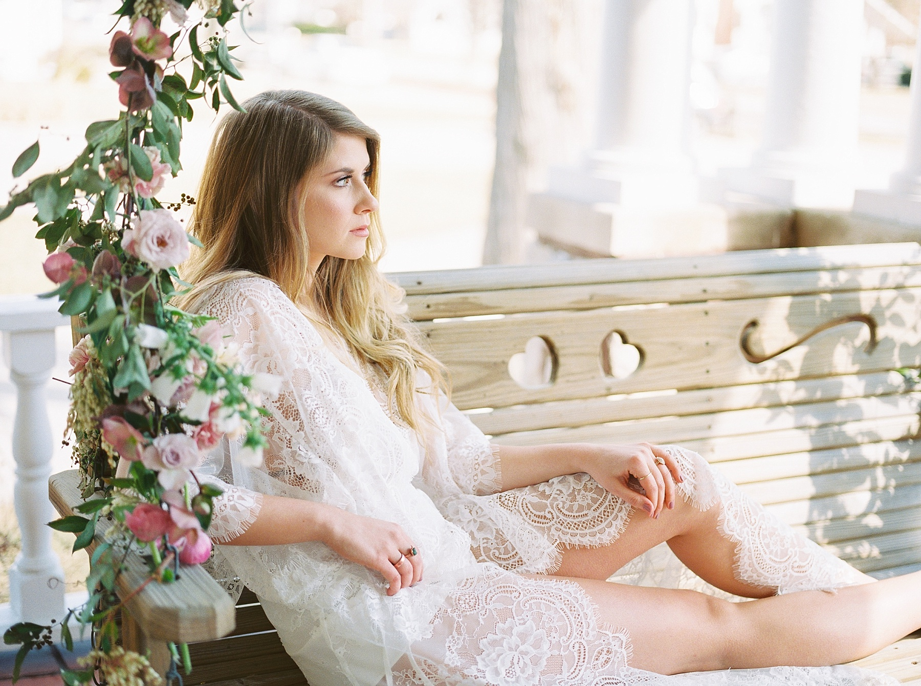Natural, Intimate, and Organic Bridal Session on Steps of Century Old Bed and Breakfast by Kelsi Kliethermes Photography Best Missouri and Maui Wedding Photographer_0009.jpg